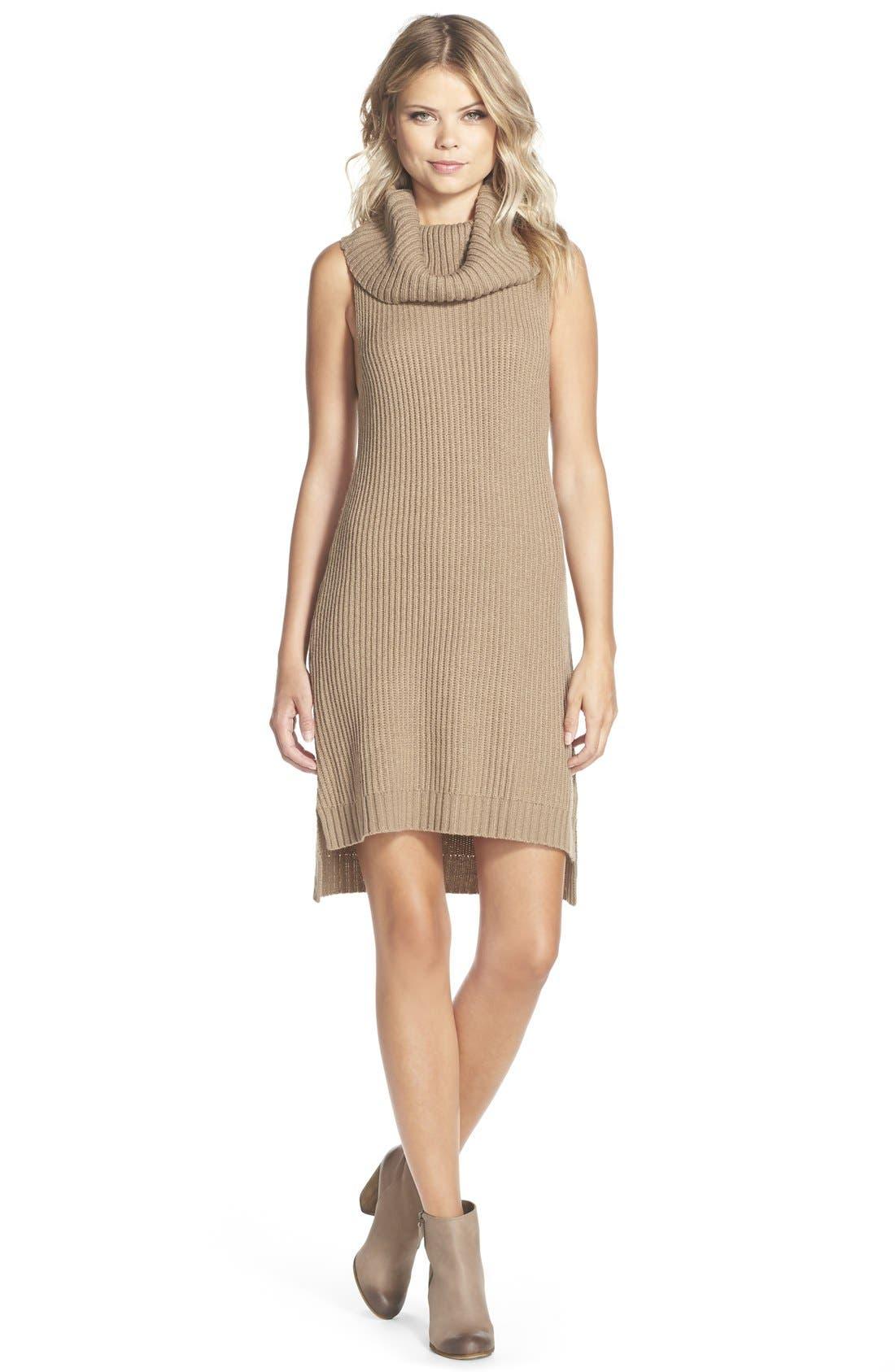 Alternate Image 3  - BB Dakota 'Marisa' Turtleneck Sweater Dress