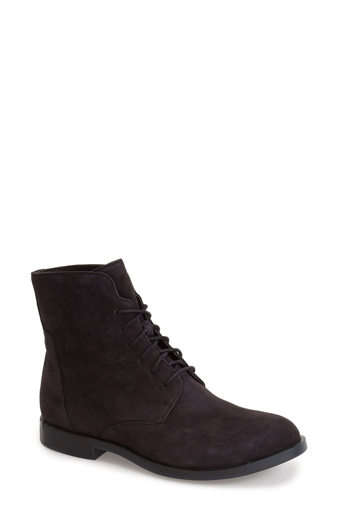 Alternate Image 1 Selected - Camper Lace-Up Bootie (Women)