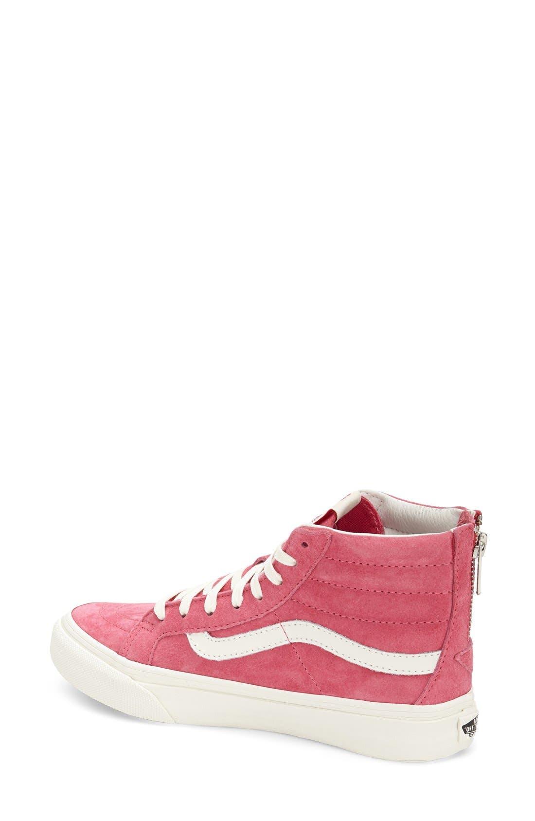 Alternate Image 2  - Vans 'Sk8-Hi Slim Zip' Sneaker (Women)