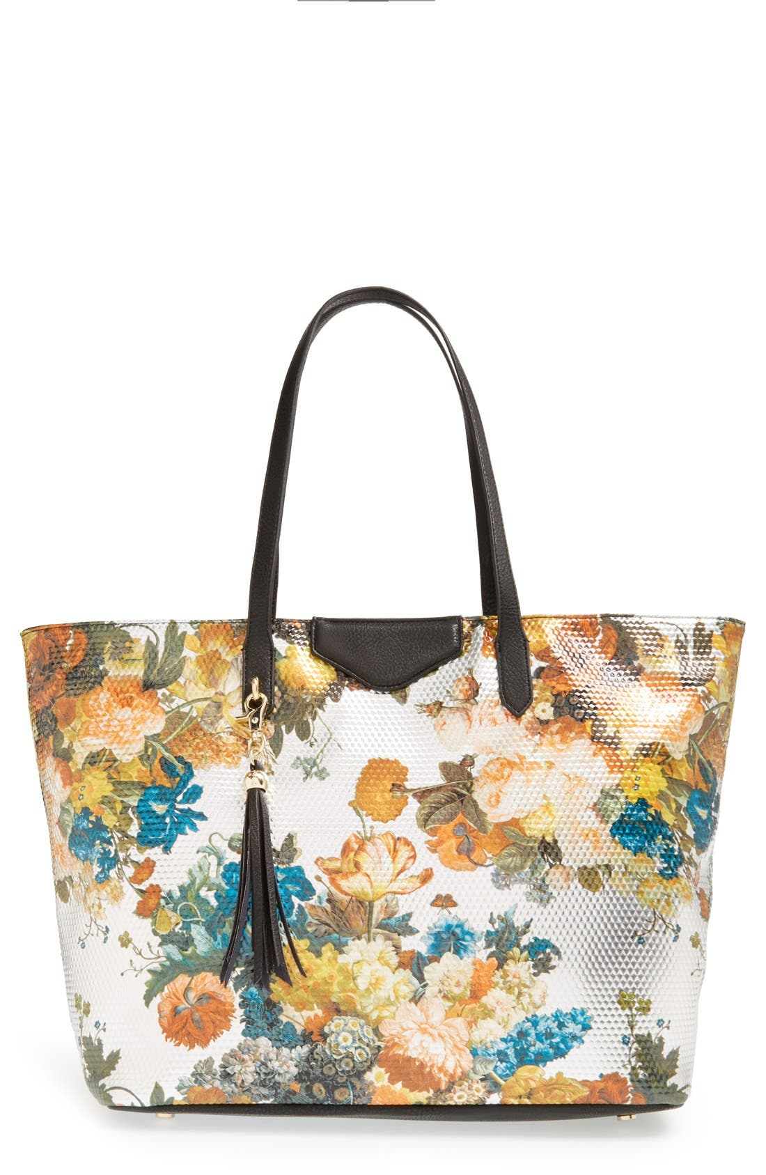 Alternate Image 1 Selected - POVERTY FLATS by rian Floral Print Tote