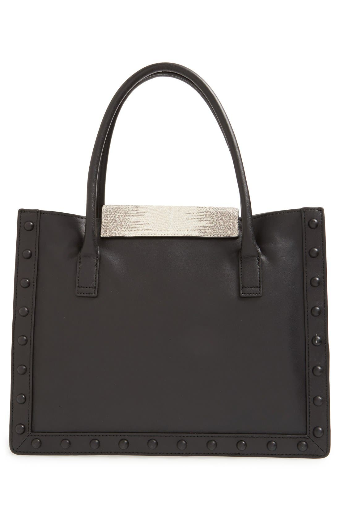 Alternate Image 3  - Loeffler Randall 'Work' Lizard Embossed Tote
