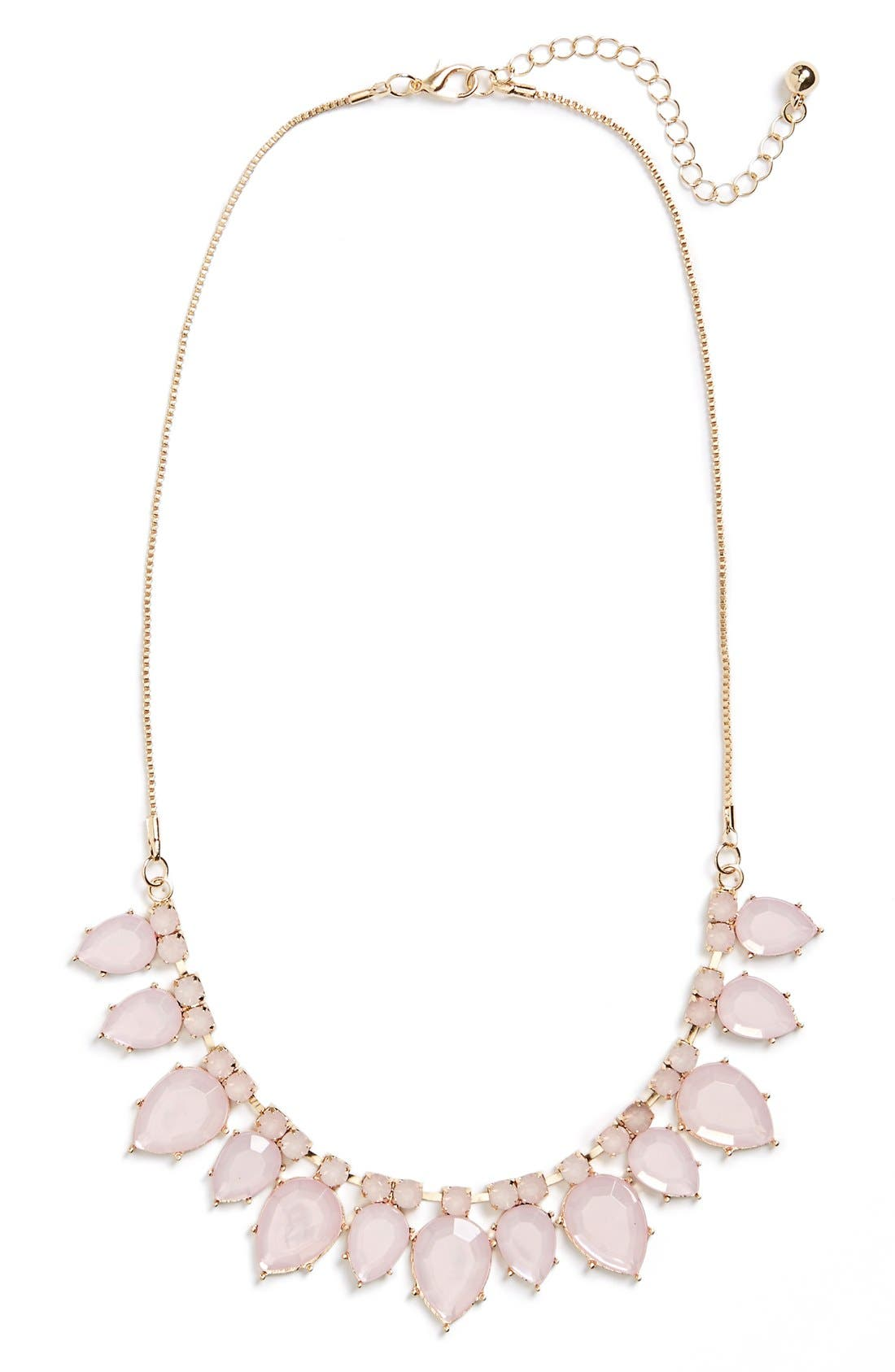 Main Image - BP. Teardrop Statement Necklace