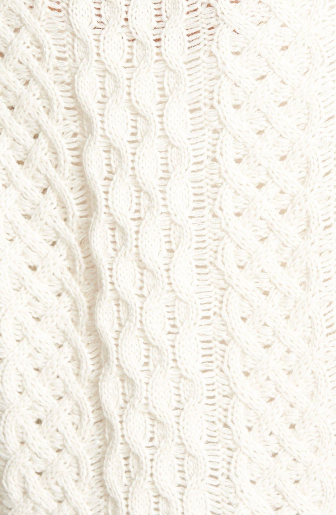 Alternate Image 3  - cupcakes and cashmere 'Sleepy Hollow' Turtleneck Sweater