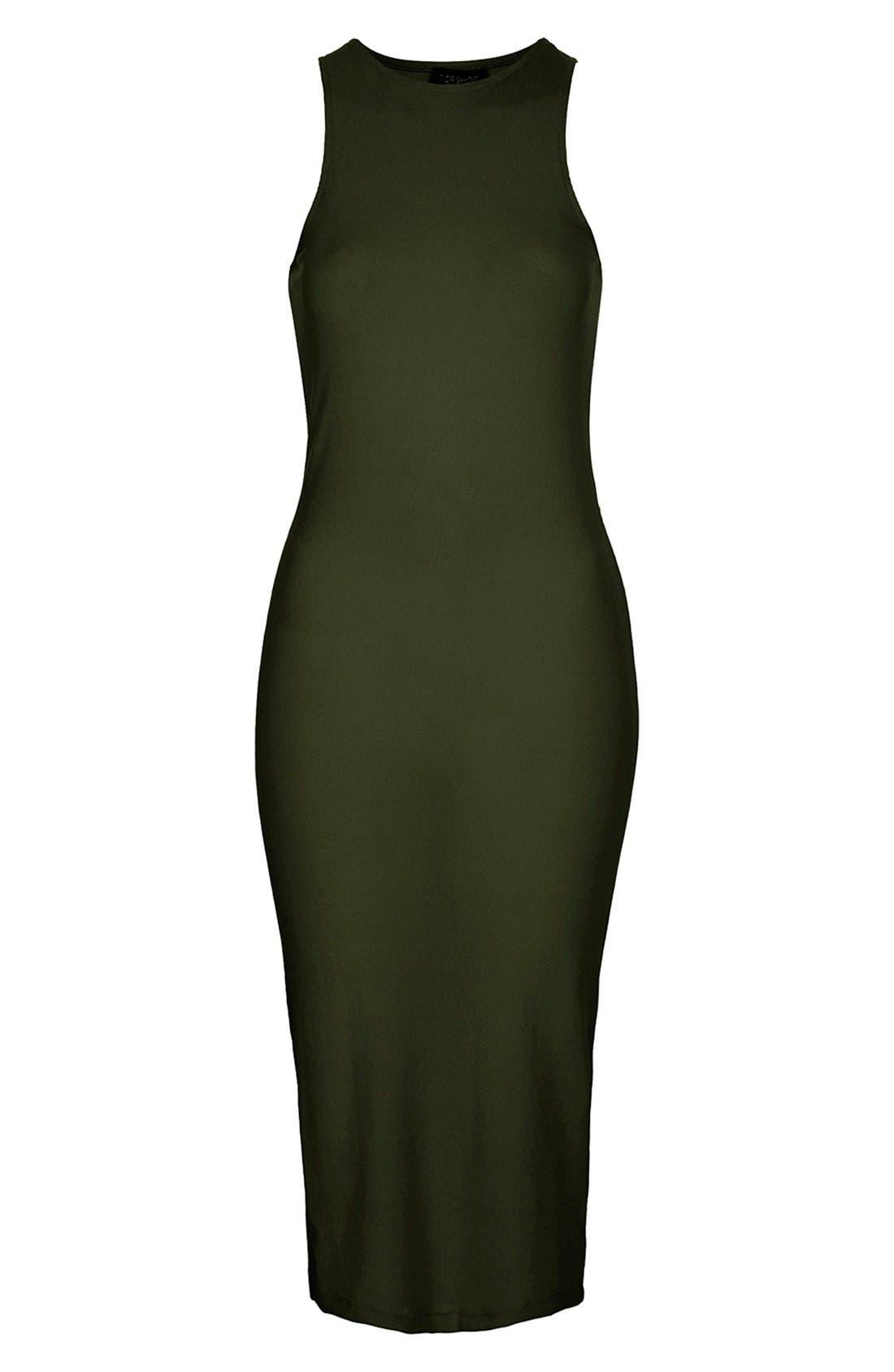 Alternate Image 3  - Topshop Ribbed Tank Dress