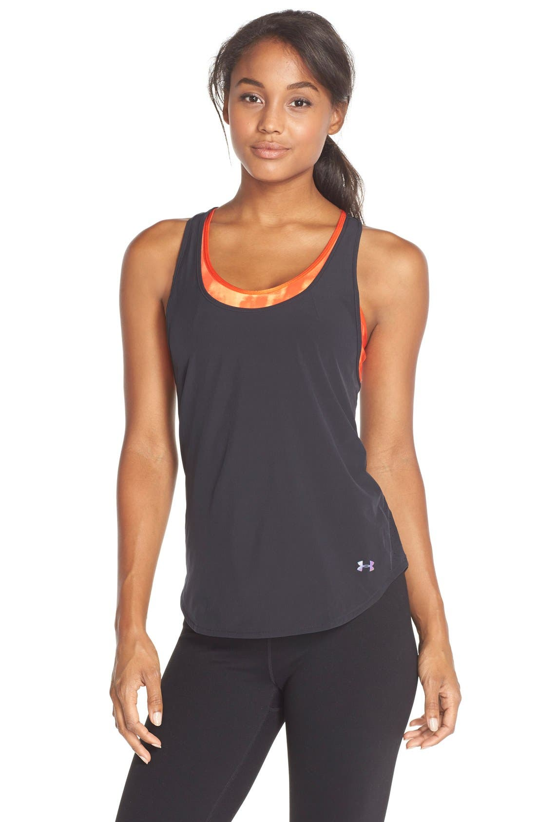 Alternate Image 1 Selected - Under Armour 'Stunner' Perforated RacerbackTank