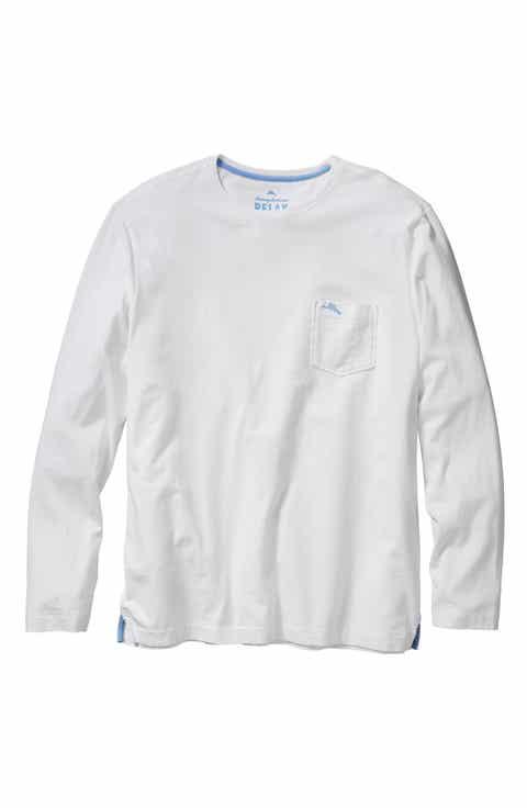 Tommy Bahama 'Bali Skyline' Long Sleeve Pima Cotton T-Shirt (Big   Tall)