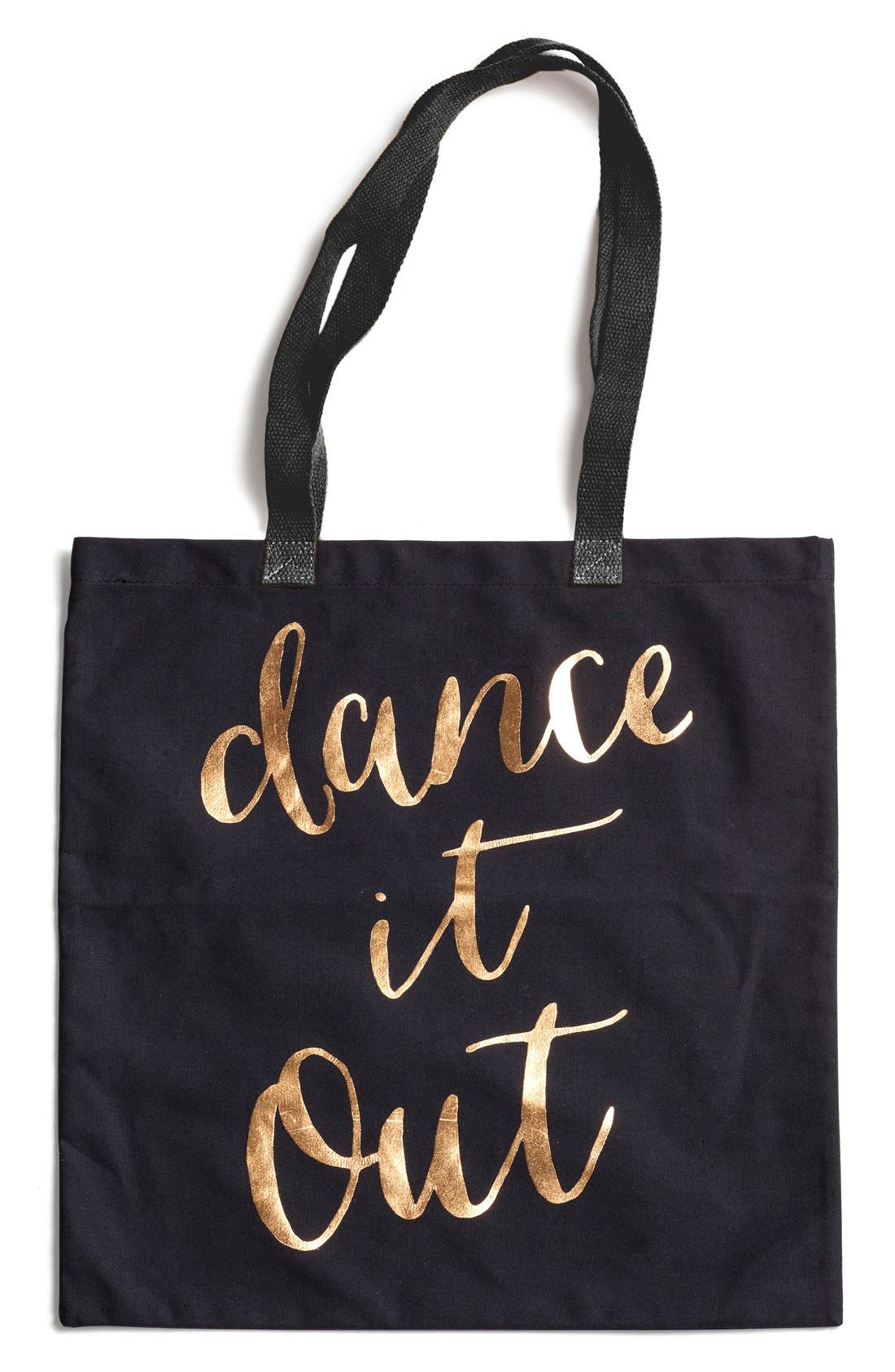 Alternate Image 1 Selected - Rosanna 'Dance It Out' Canvas Tote