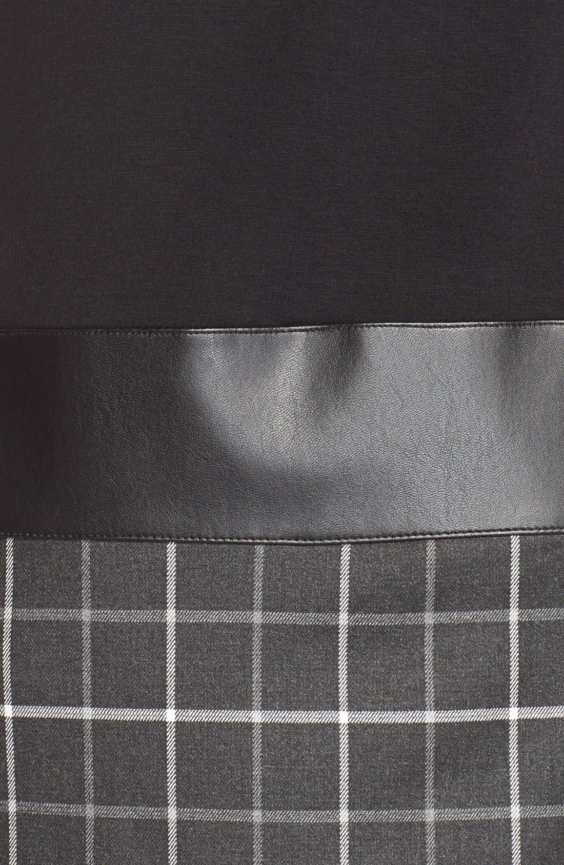Alternate Image 3  - B44 Dressed by Bailey 44 'Diane' Turtleneck Drop-Waist Dress