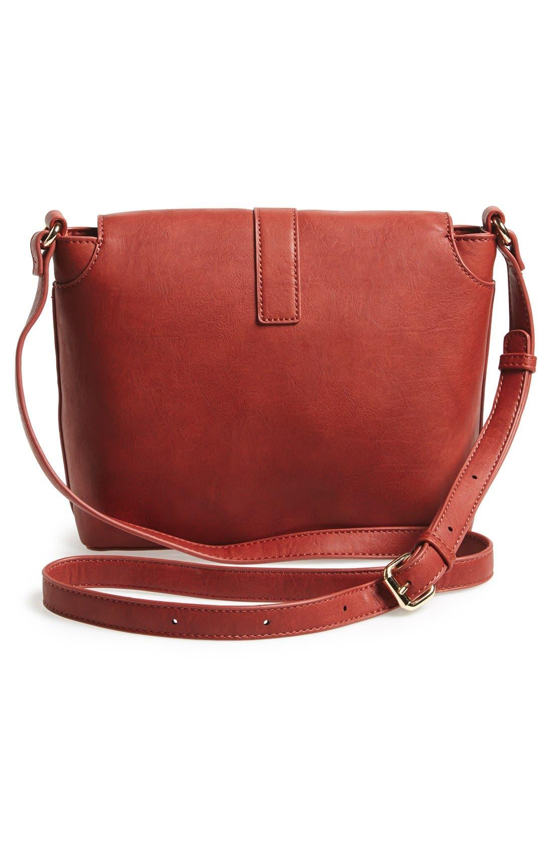 Alternate Image 3  - Sole Society 'Brady' Faux Leather Crossbody Bag