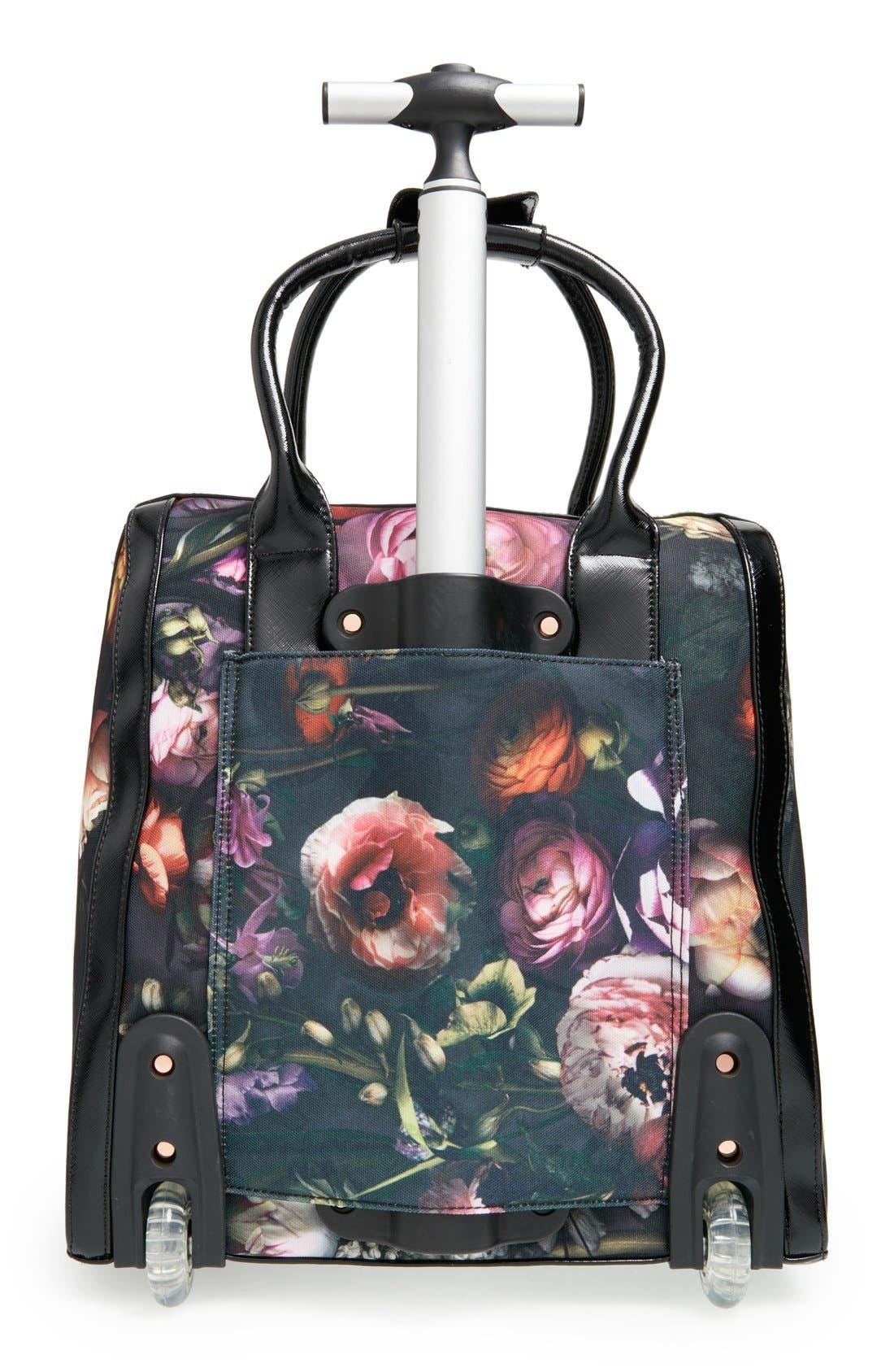 Alternate Image 2  - Ted Baker London 'Shadow Flora' Travel Bag (16 Inch)