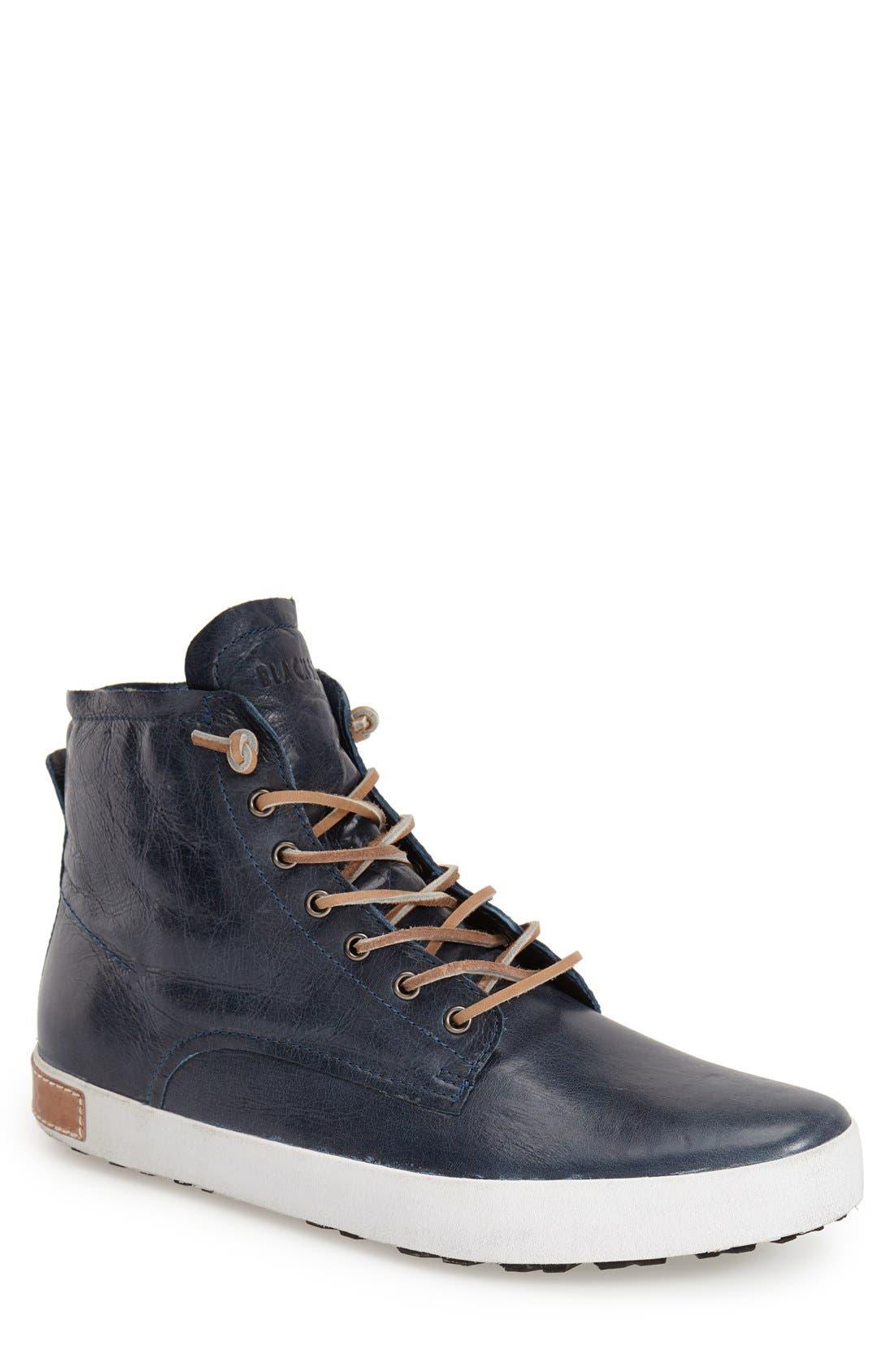 BLACKSTONE 'IM 10' Leather High Top Sneaker