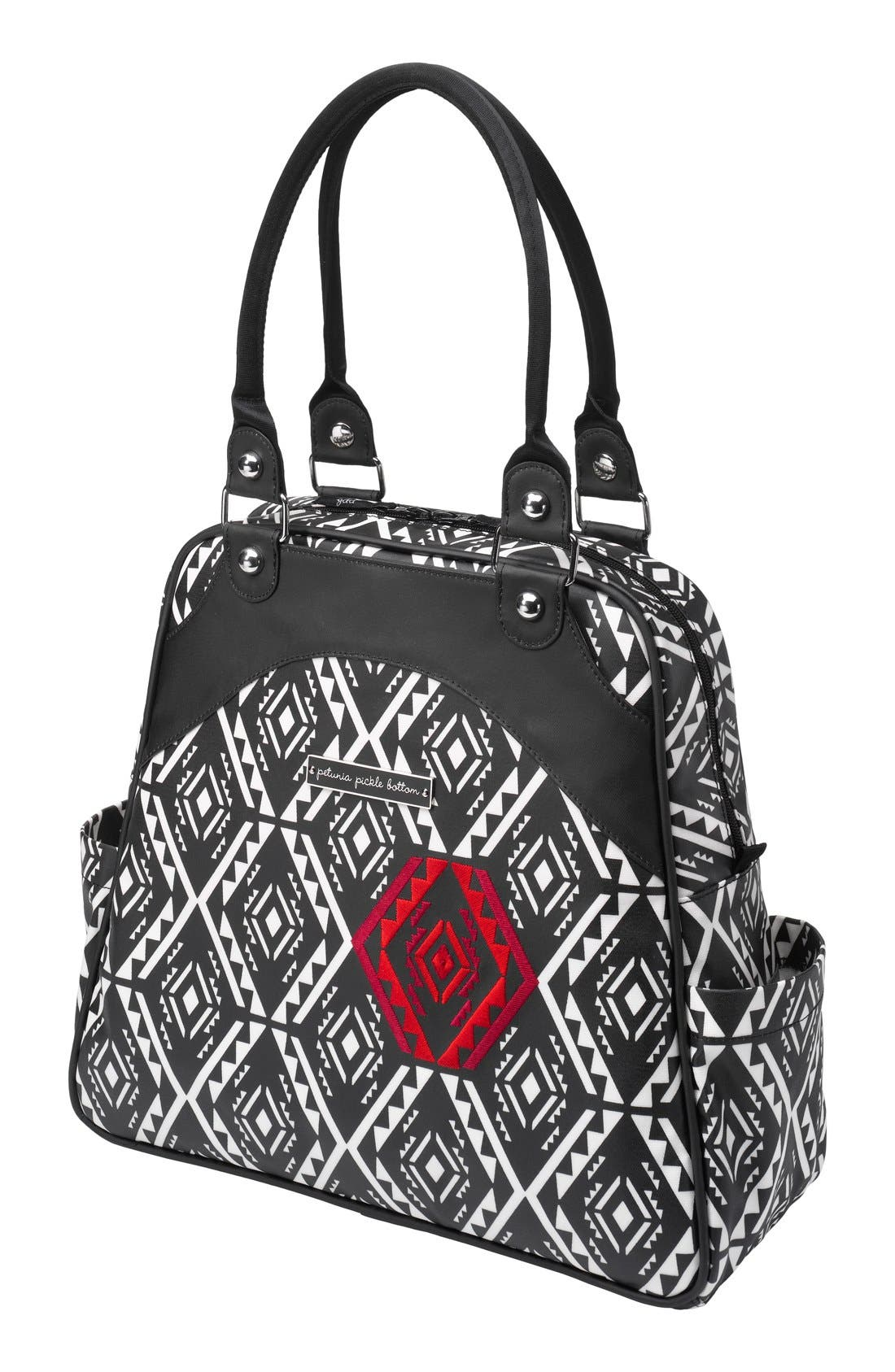 Alternate Image 1 Selected - Petunia Pickle Bottom 'Glazed Sashay' Convertible Diaper Bag/Satchel