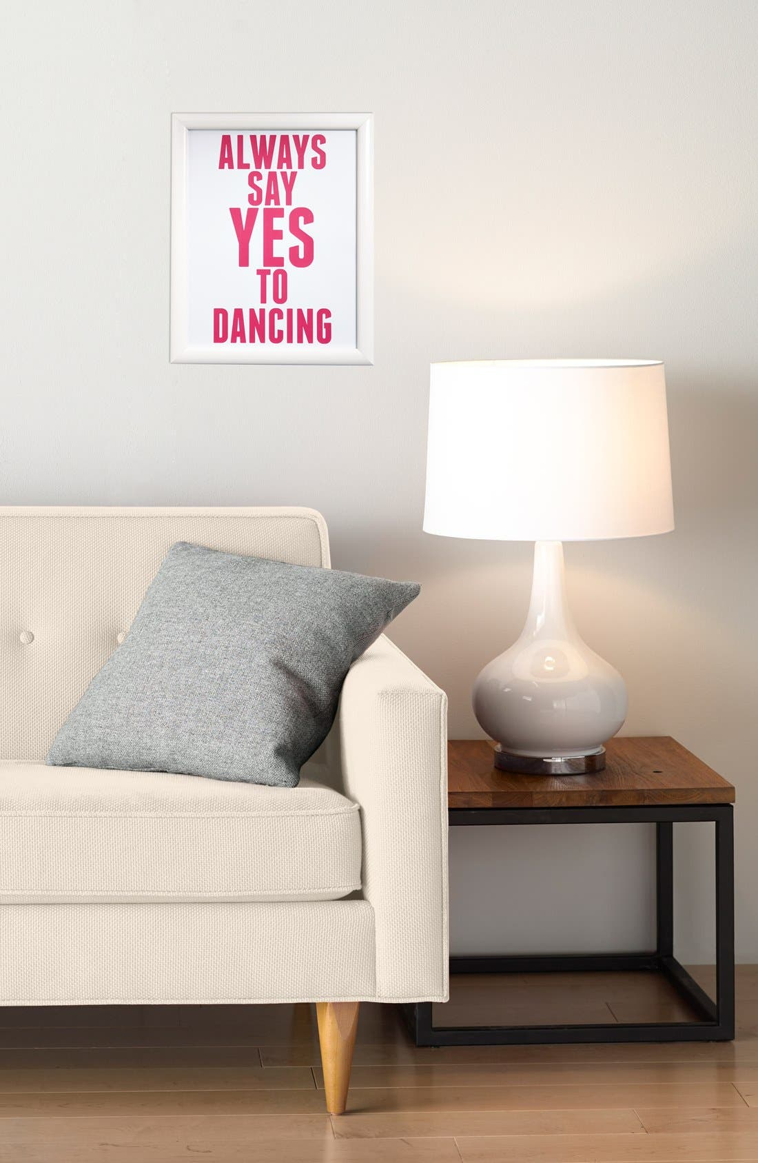 Alternate Image 2  - Canton Box Co. 'Always Say Yes To Dancing' Wall Art