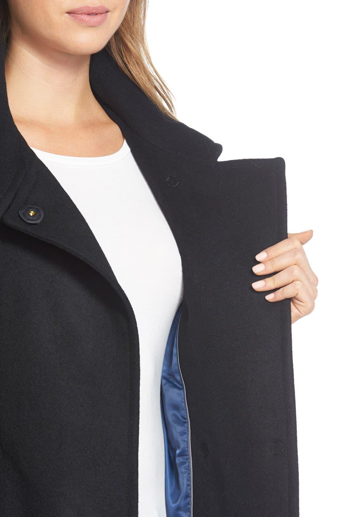 Alternate Image 4  - T Tahari'India' Wool Blend Wrap Coat