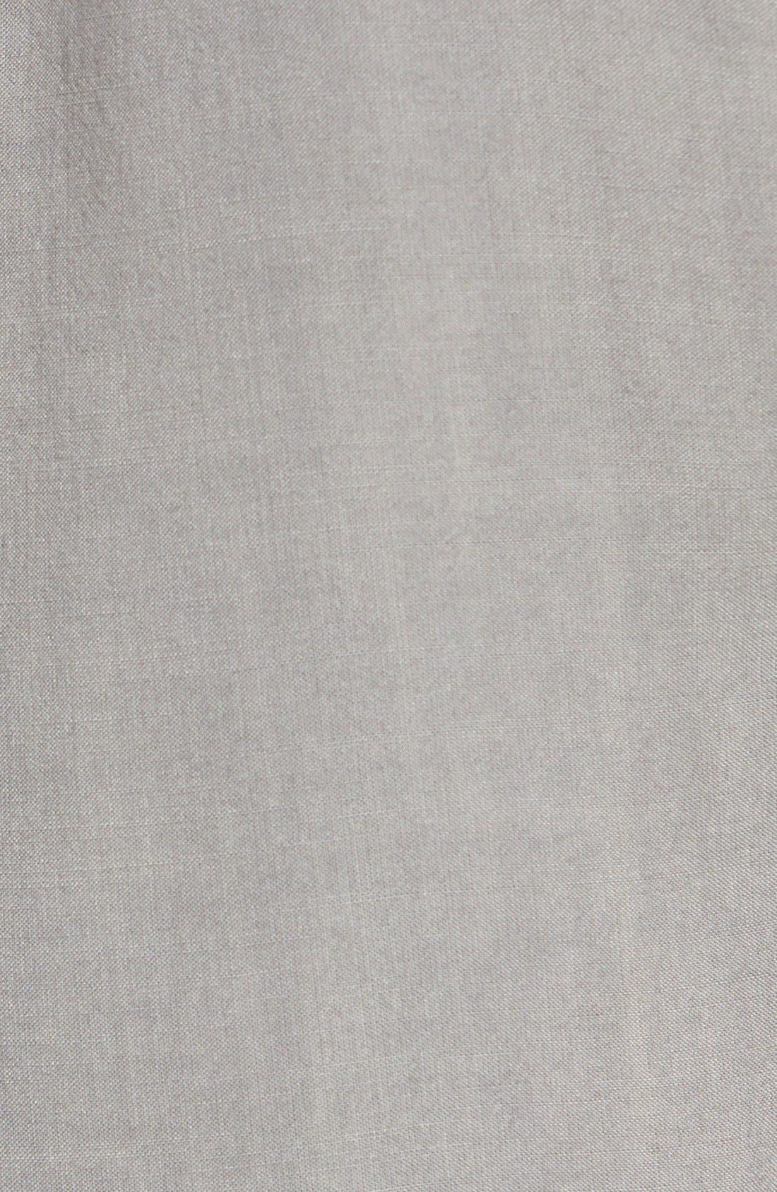 Alternate Image 3  - Side Stitch Roll Tab Sleeve Tencel® Pullover Shirt
