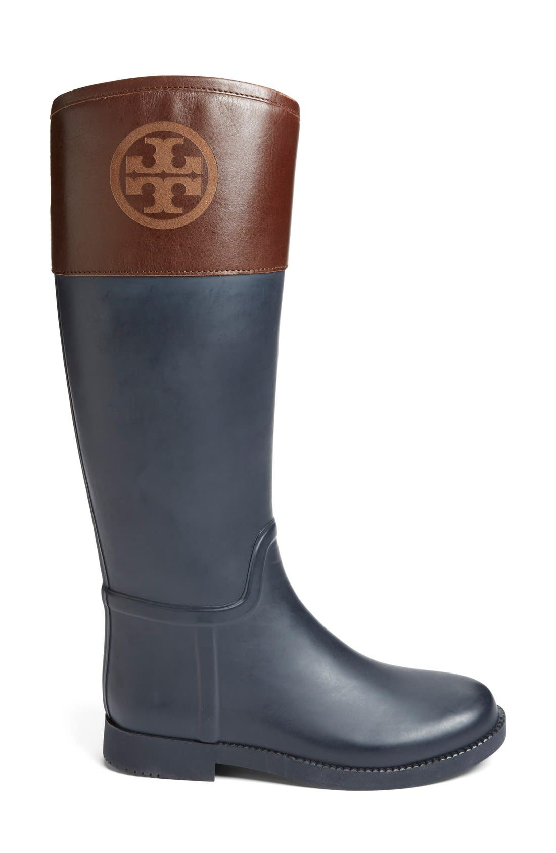 Alternate Image 4  - Tory Burch 'Classic' Rain Boot (Women) (Nordstrom Exclusive)