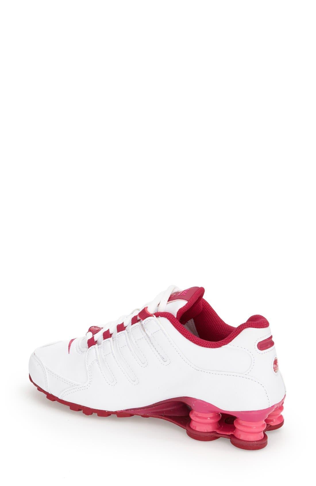 Alternate Image 2  - Nike 'Shox NZ EU' Sneaker (Women)