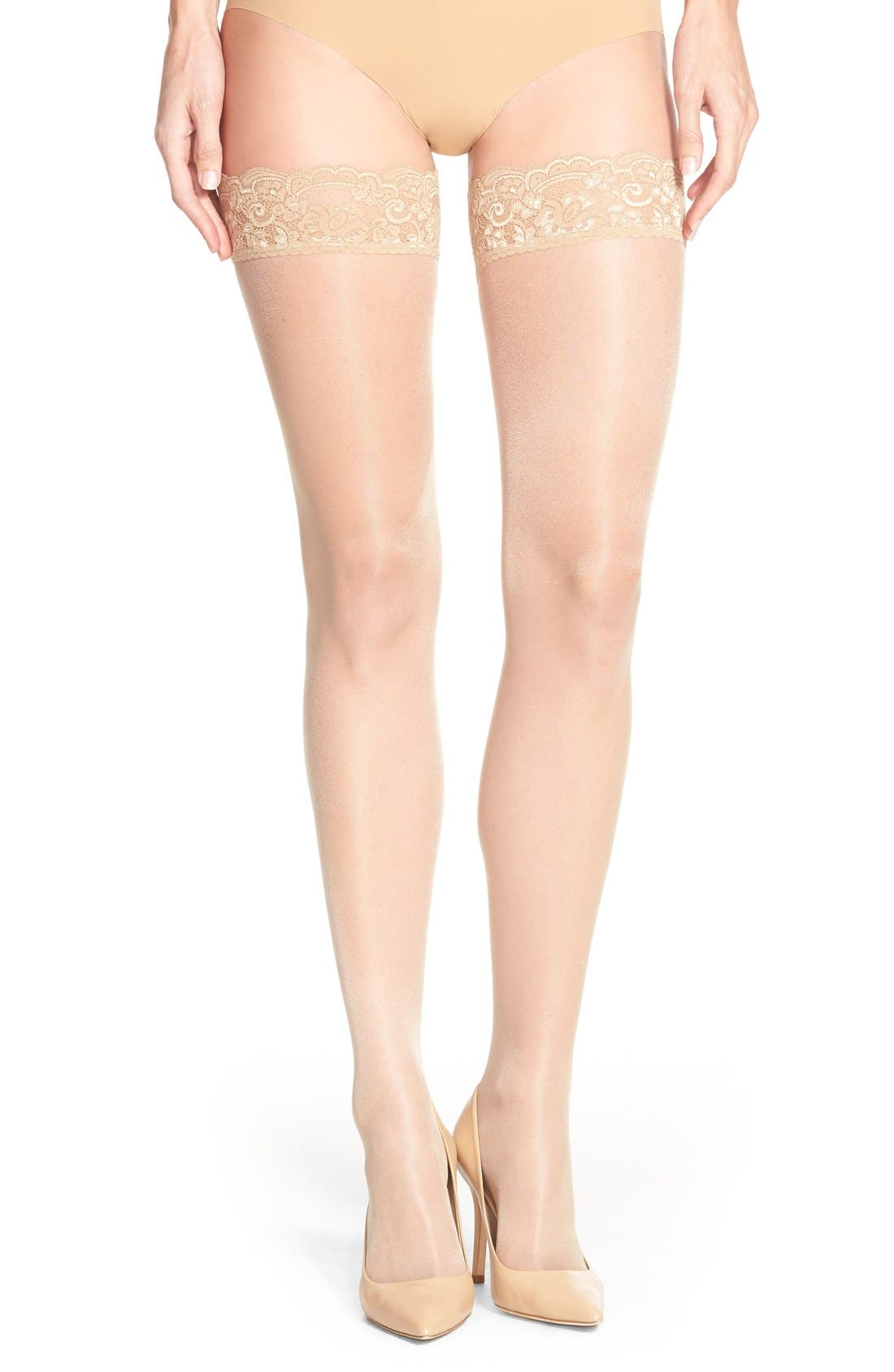 Main Image - Wolford 'Affaire 10' Stockings