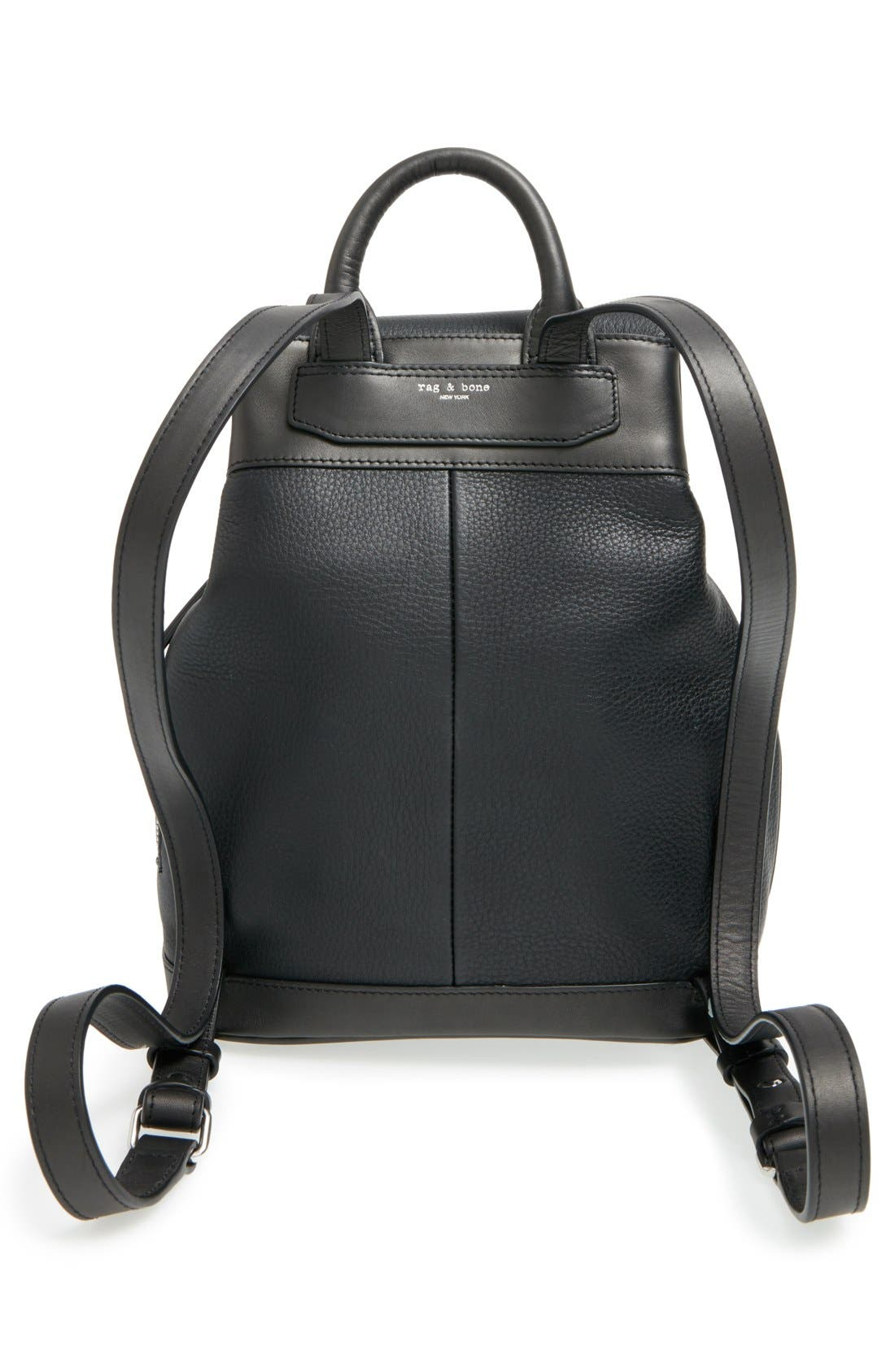 Alternate Image 3  - rag & bone 'Mini Pilot' Quilted Leather Backpack