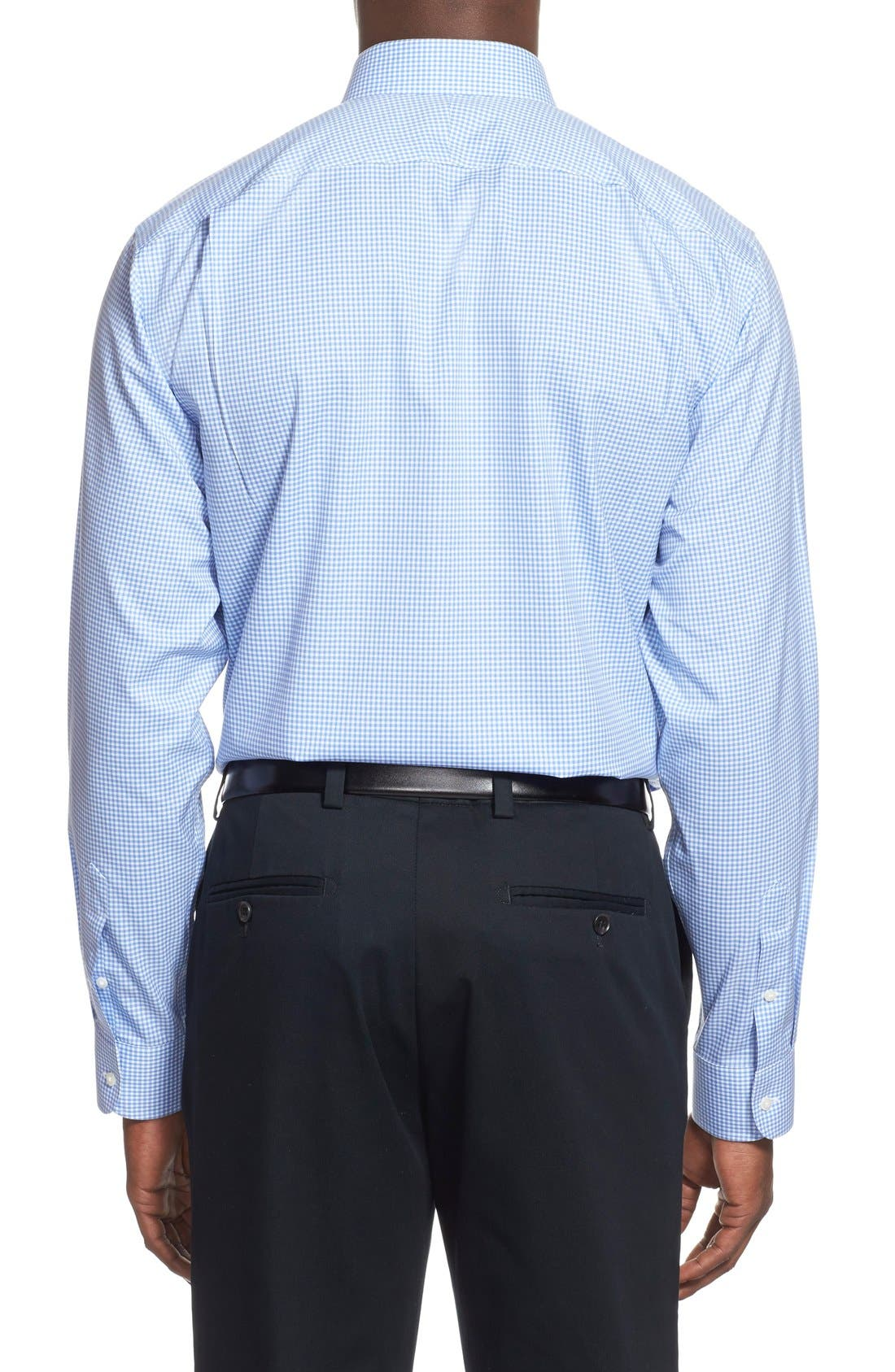 Alternate Image 3  - Nordstrom Men's Shop Smartcare™ Traditional Fit Gingham Dress Shirt
