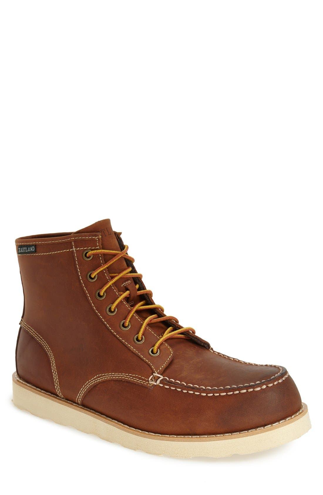 Eastland 'Lumber Up' Moc Toe Boot (Men)