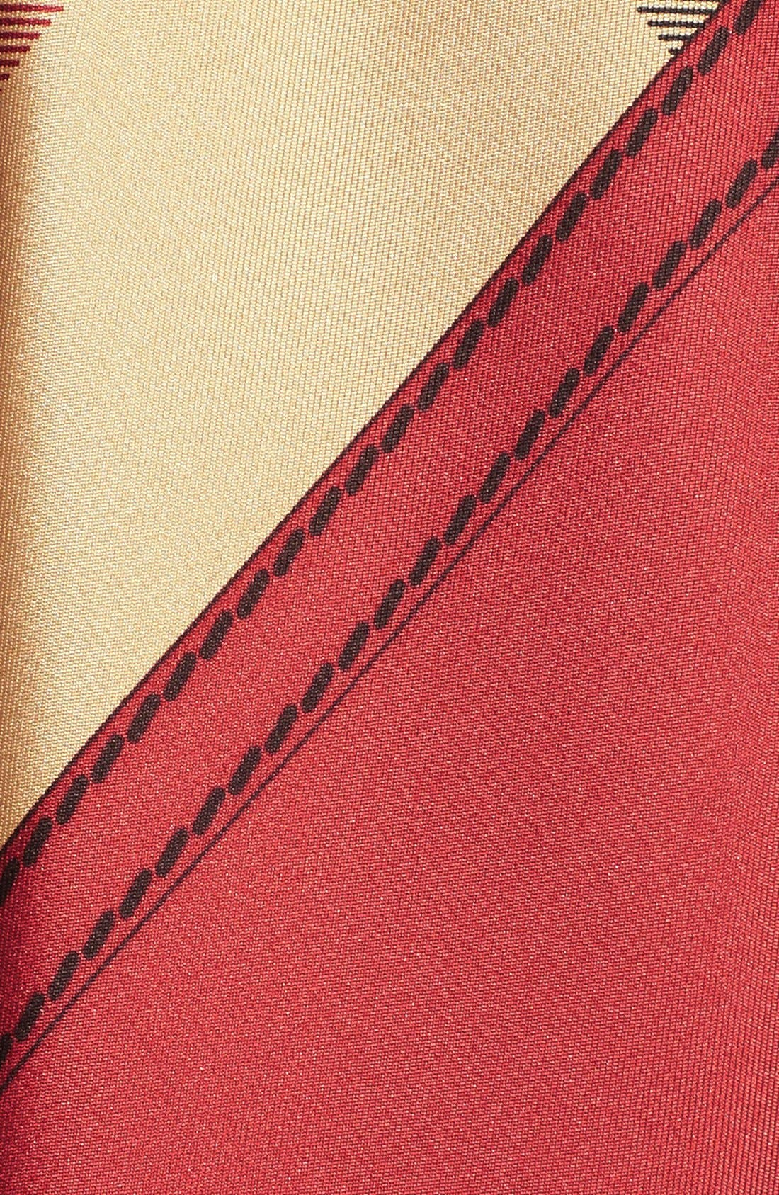 Alternate Image 2  - Burberry Horseferry Check Silk Square Scarf