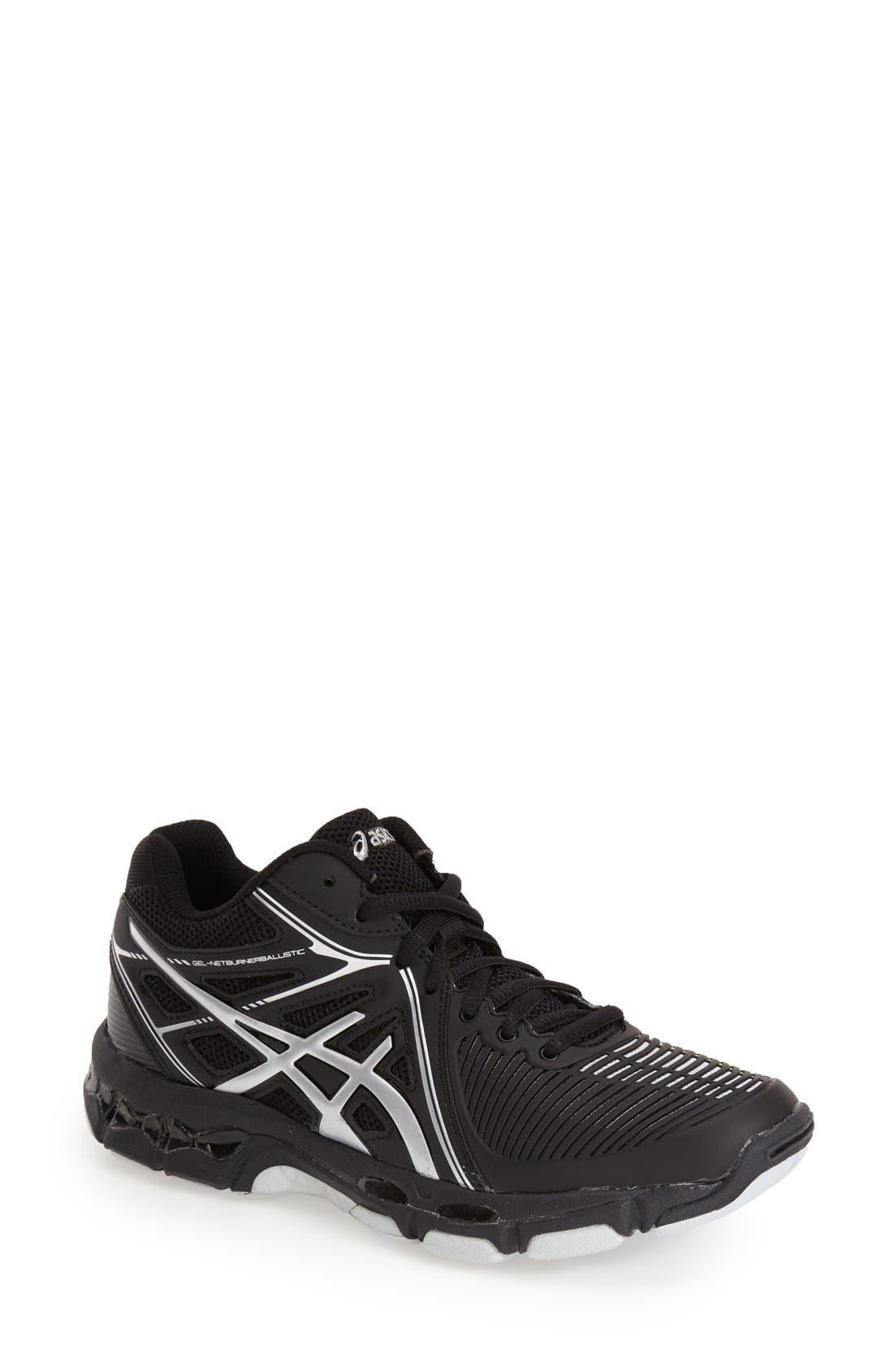 Alternate Image 1 Selected - ASICS® 'GEL-Netburner' Mid Volleyball Shoe (Women)