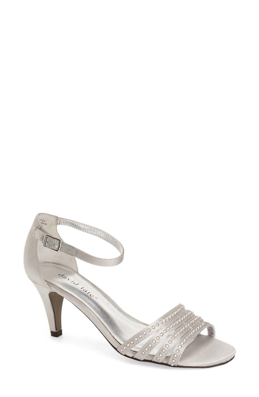 David Tate 'Terra' Ankle Strap Sandal (Women)