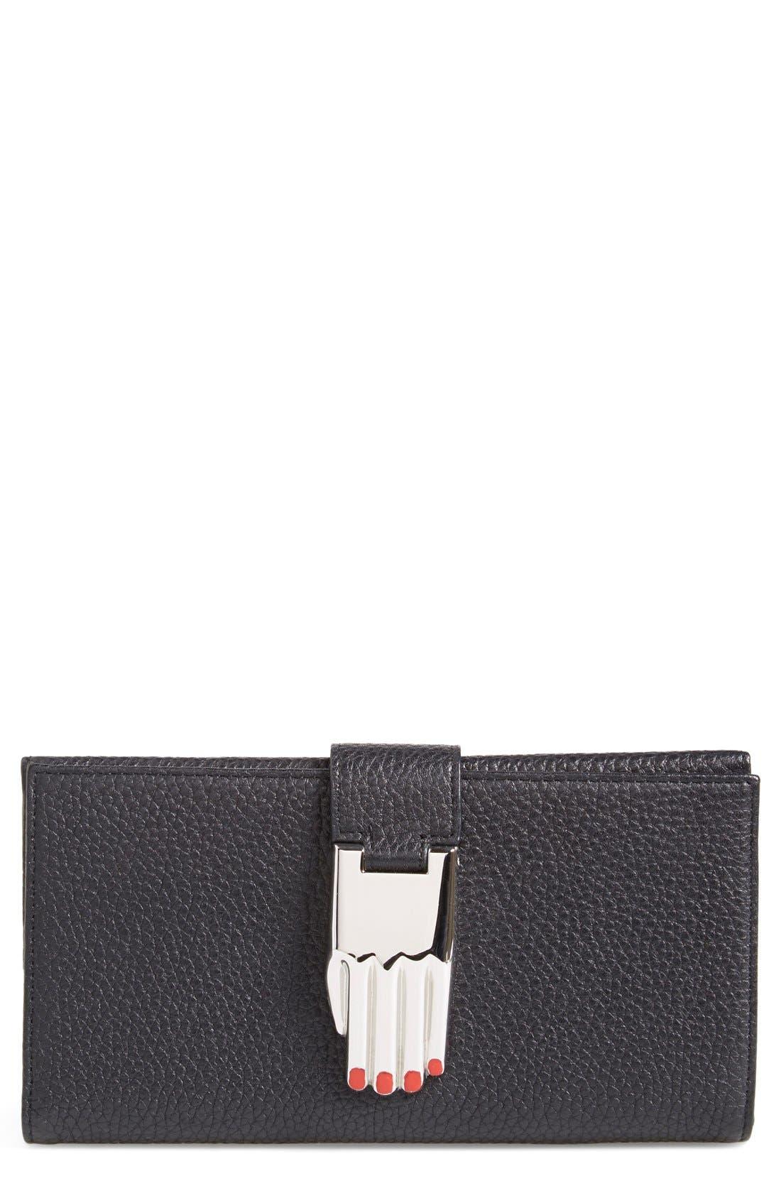 Main Image - Opening Ceremony 'Misha' Leather Wallet