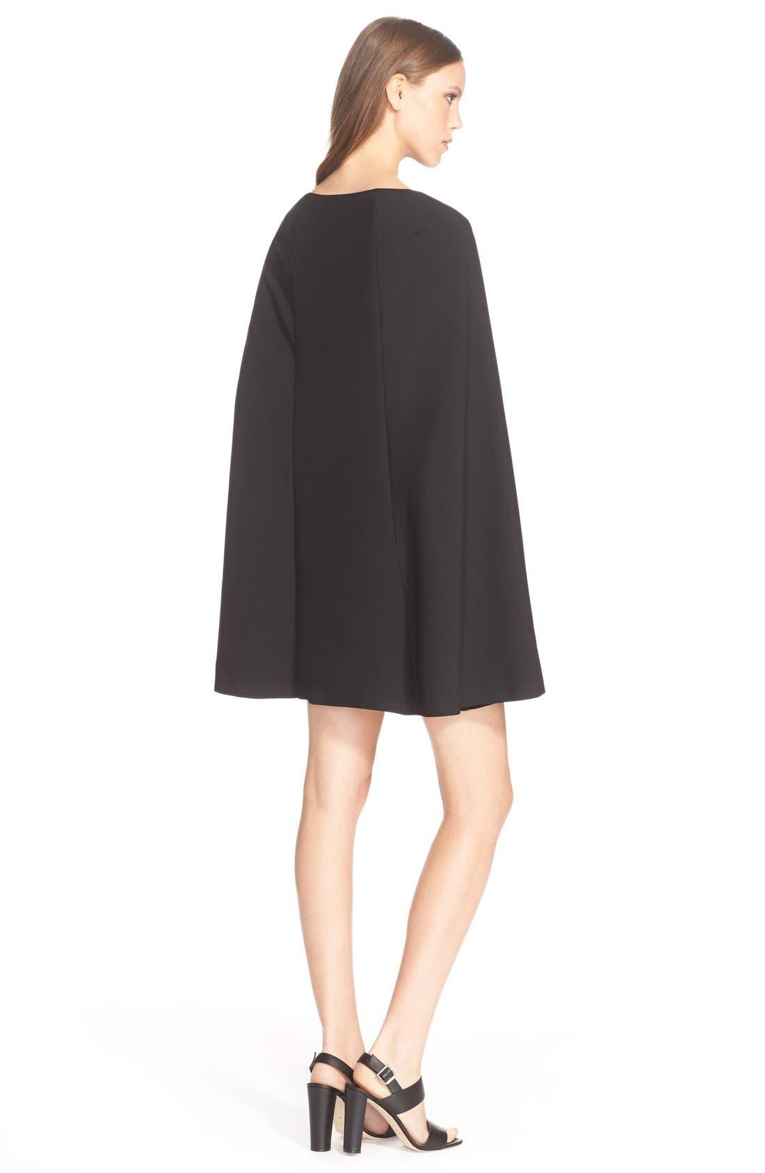 Alternate Image 3  - TrinaTurk'Gizela'Cape Back Dress
