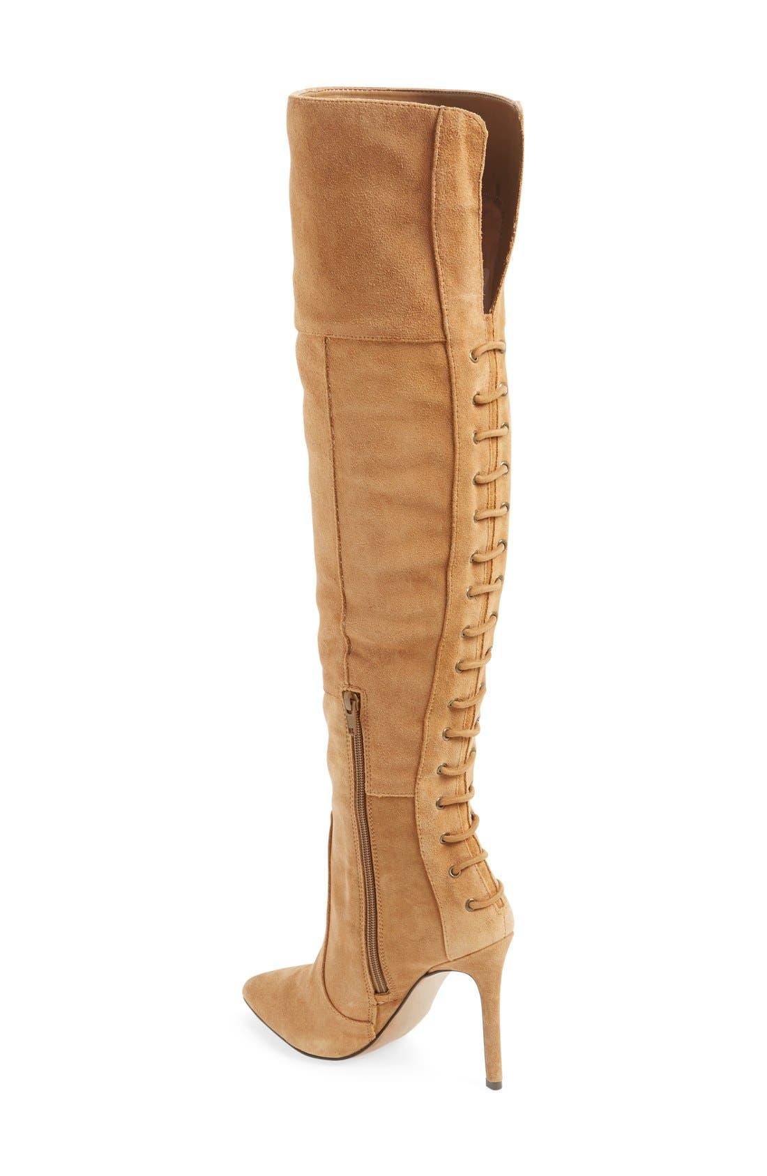 Alternate Image 2  - Jessica Simpson'Parii' Over the Knee Boot (Women)