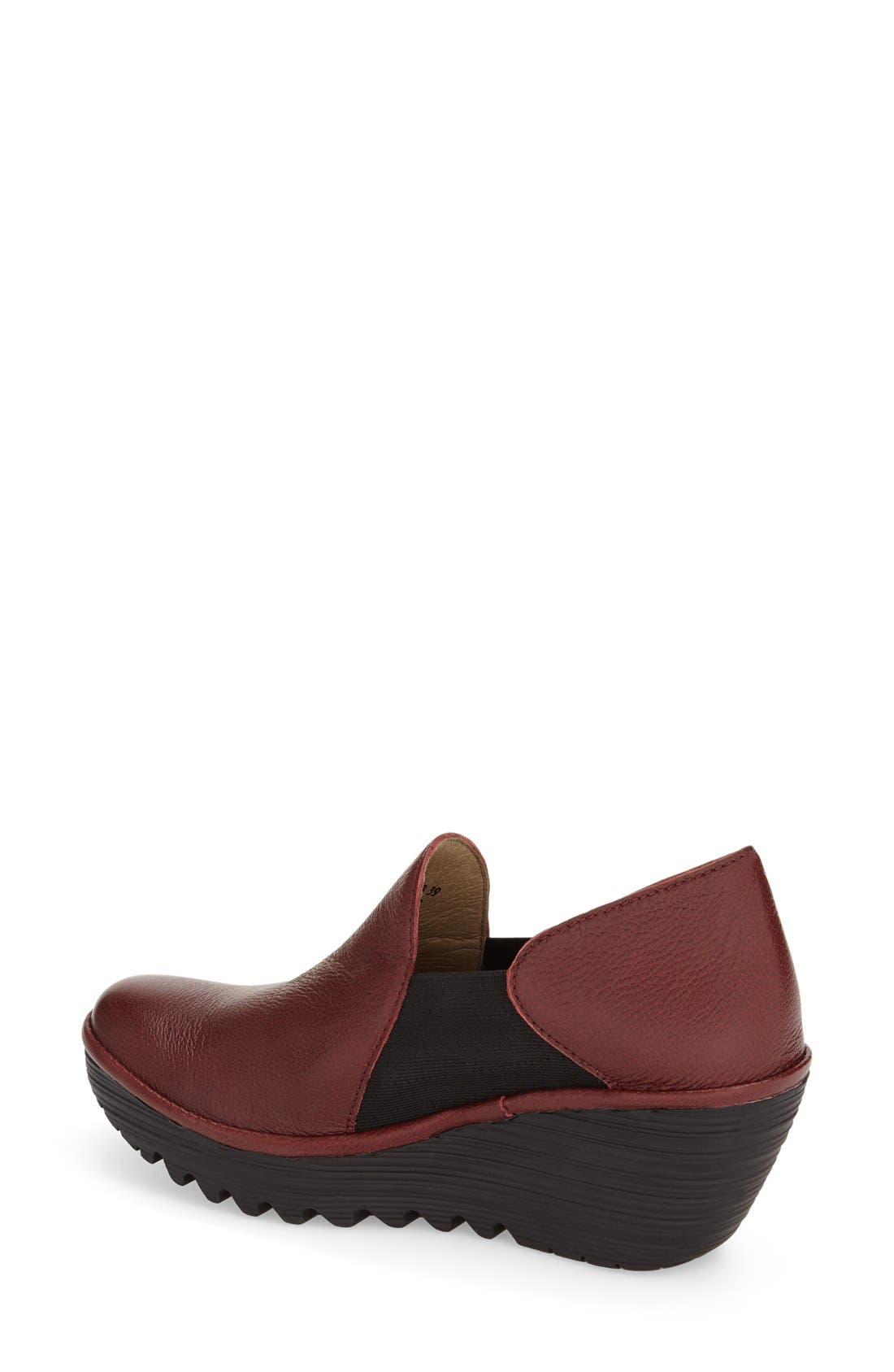 Alternate Image 2  - Fly London 'Yua' Platform Wedge Pump (Women)