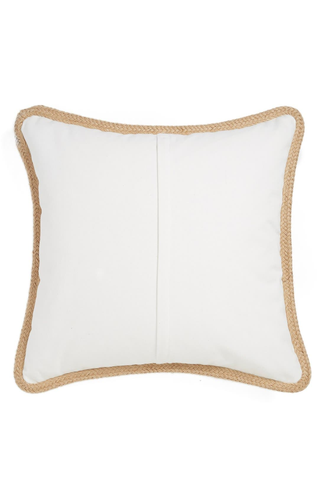 Alternate Image 2  - Levtex Feather Embroidered Pillow