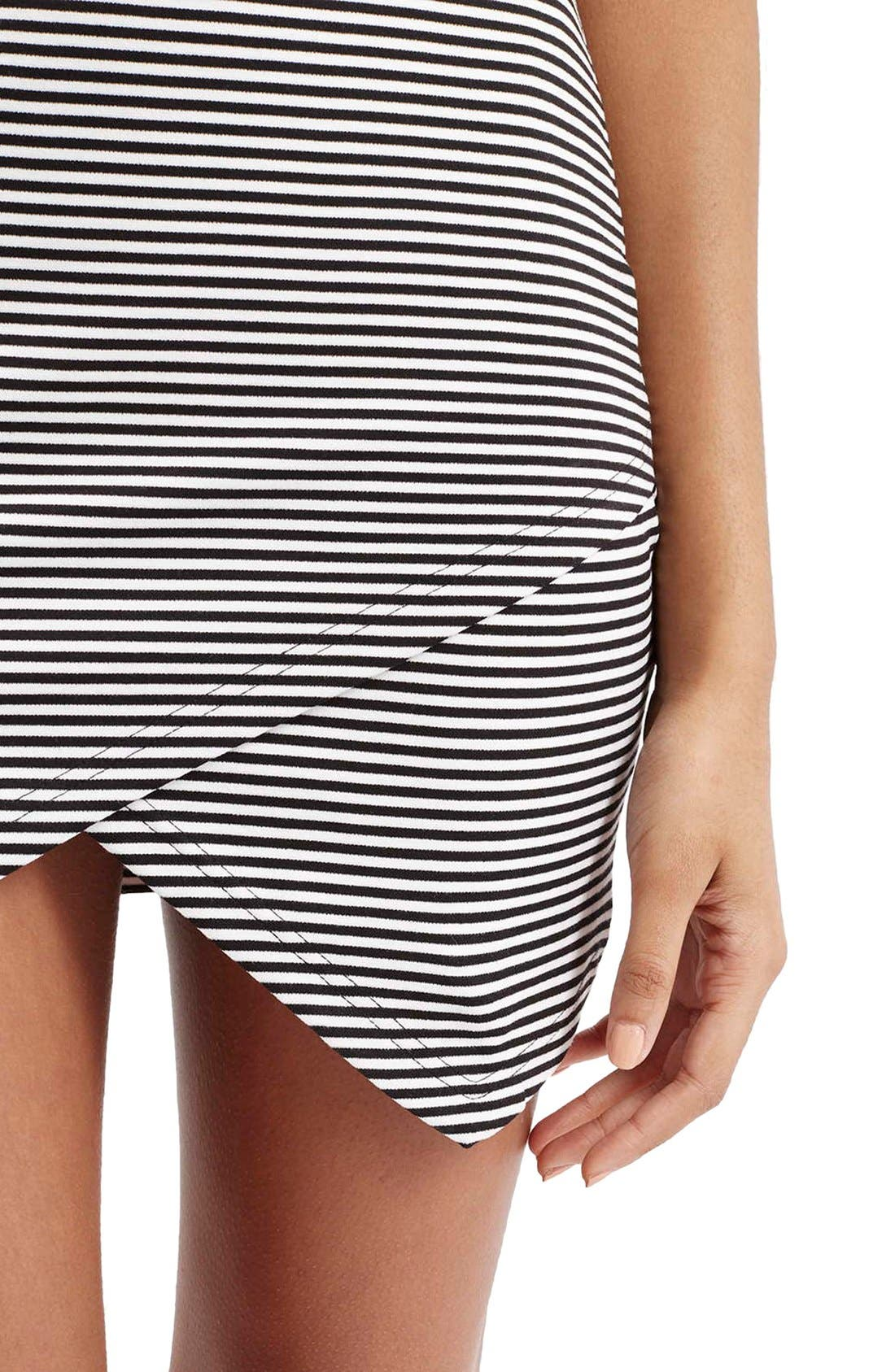 Alternate Image 5  - TopshopStripe Body-Con Dress