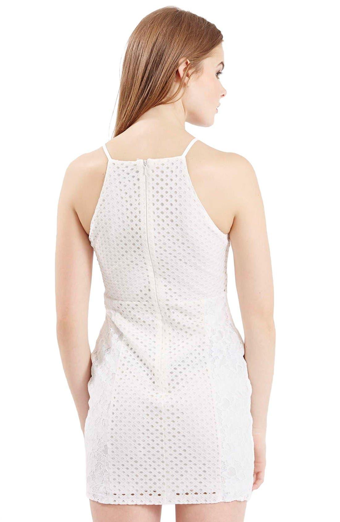 Alternate Image 3  - TopshopLace Body-Con Dress (Petite)