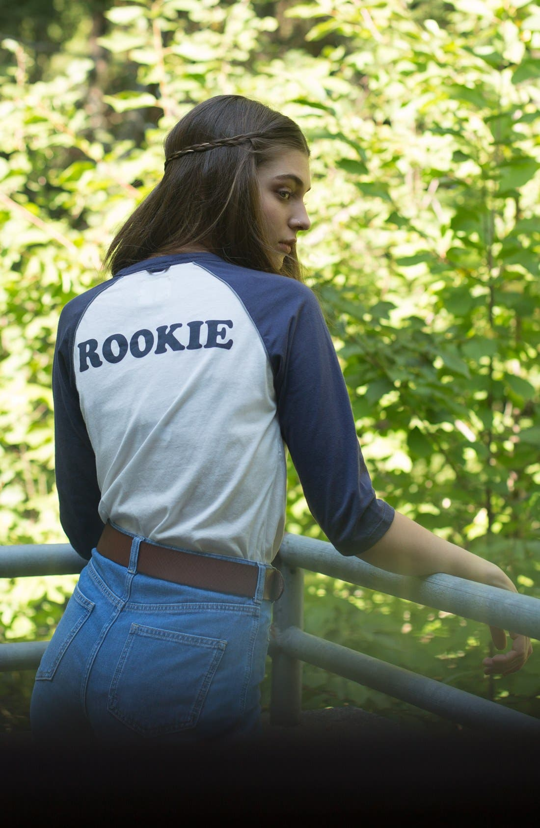 Alternate Image 3  - CAMP Collection 'Rookie' Baseball Tee (Women)