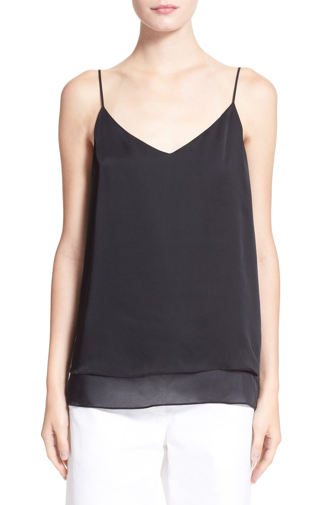 Alternate Image 1 Selected - rag & bone 'Lora' Silk Camisole