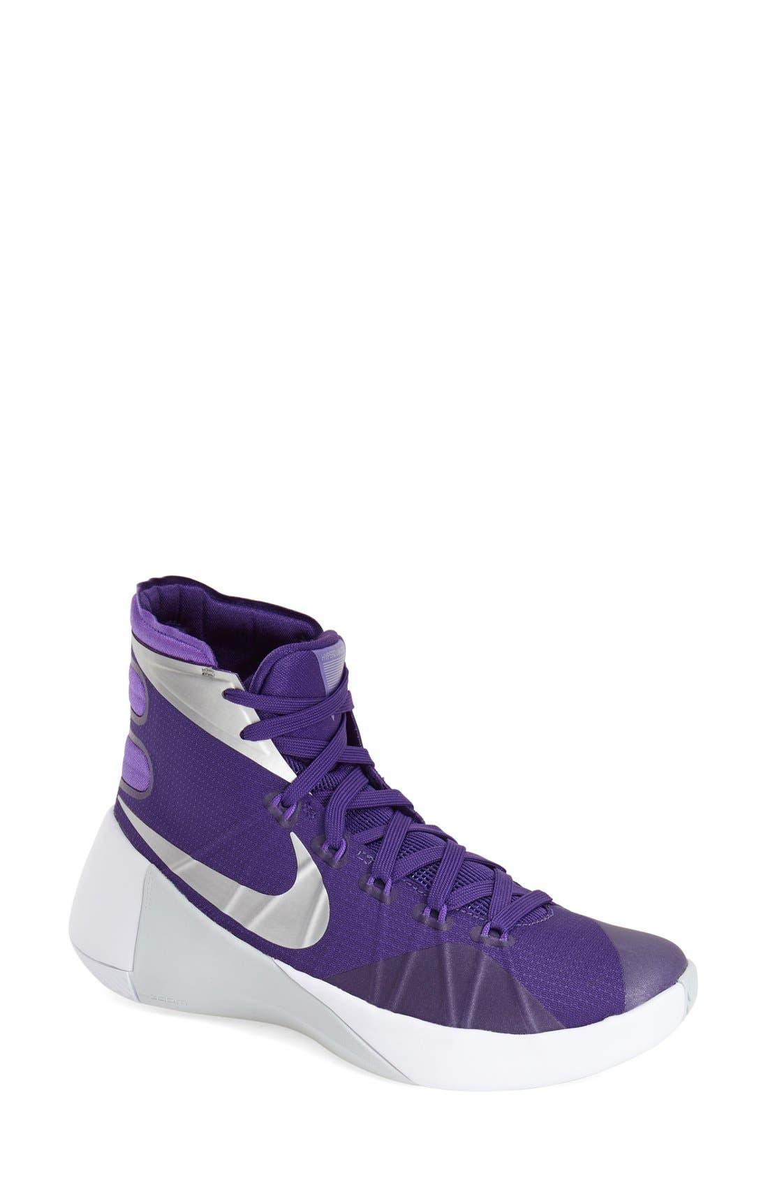Alternate Image 1 Selected - Nike 'Hyperdunk 2015' Basketball Shoe (Women)
