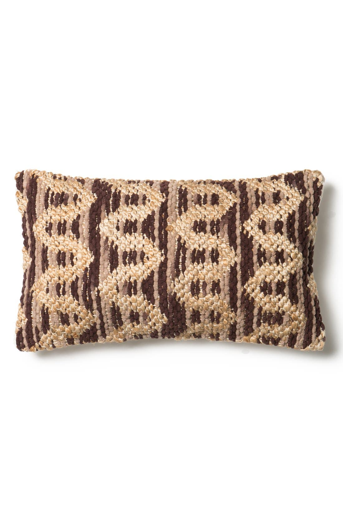 LOLOI Woven Pattern Accent Pillow