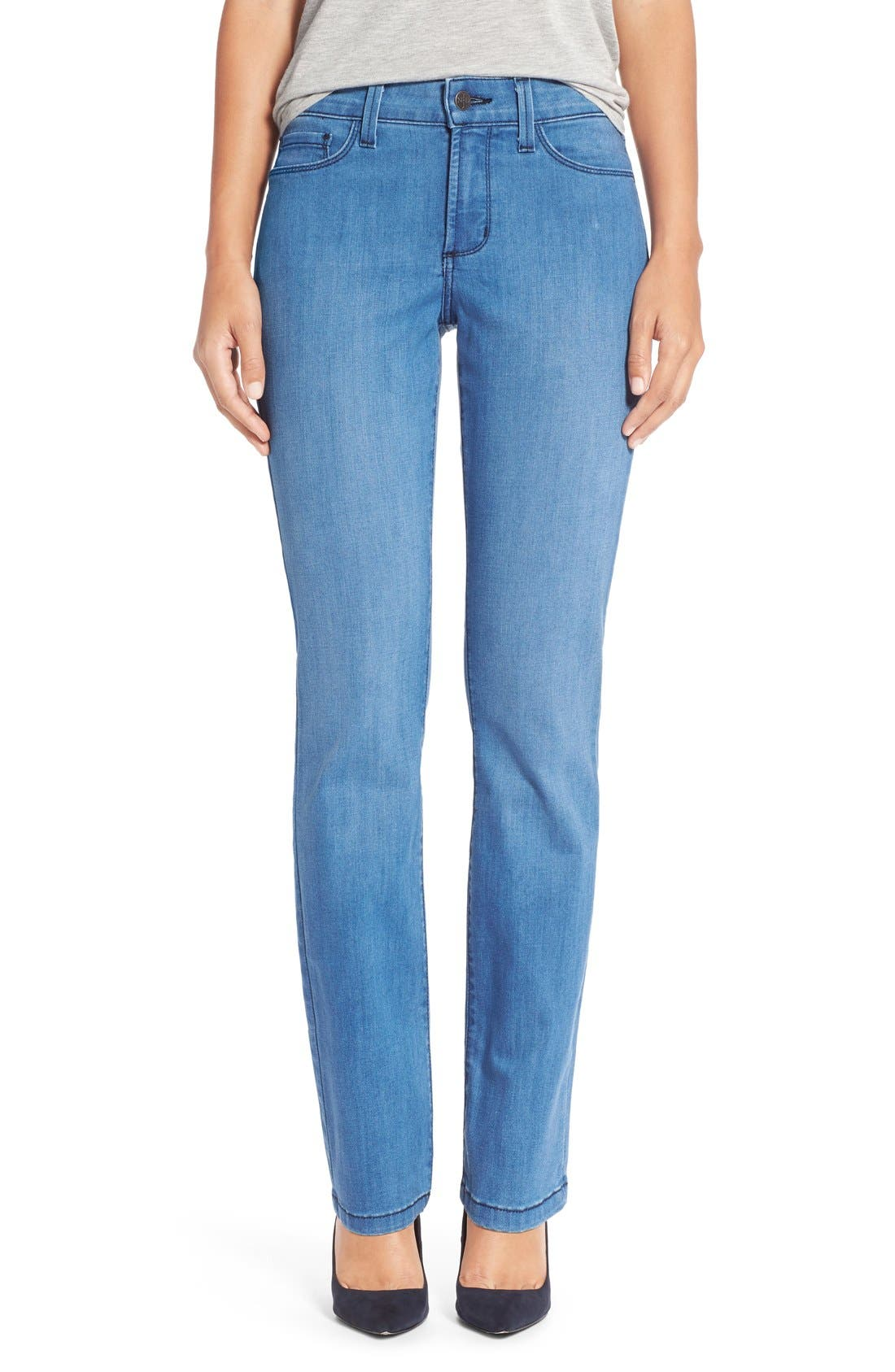 Main Image - NYDJ 'Sheri' Stretch Skinny Jeans (Newberry)