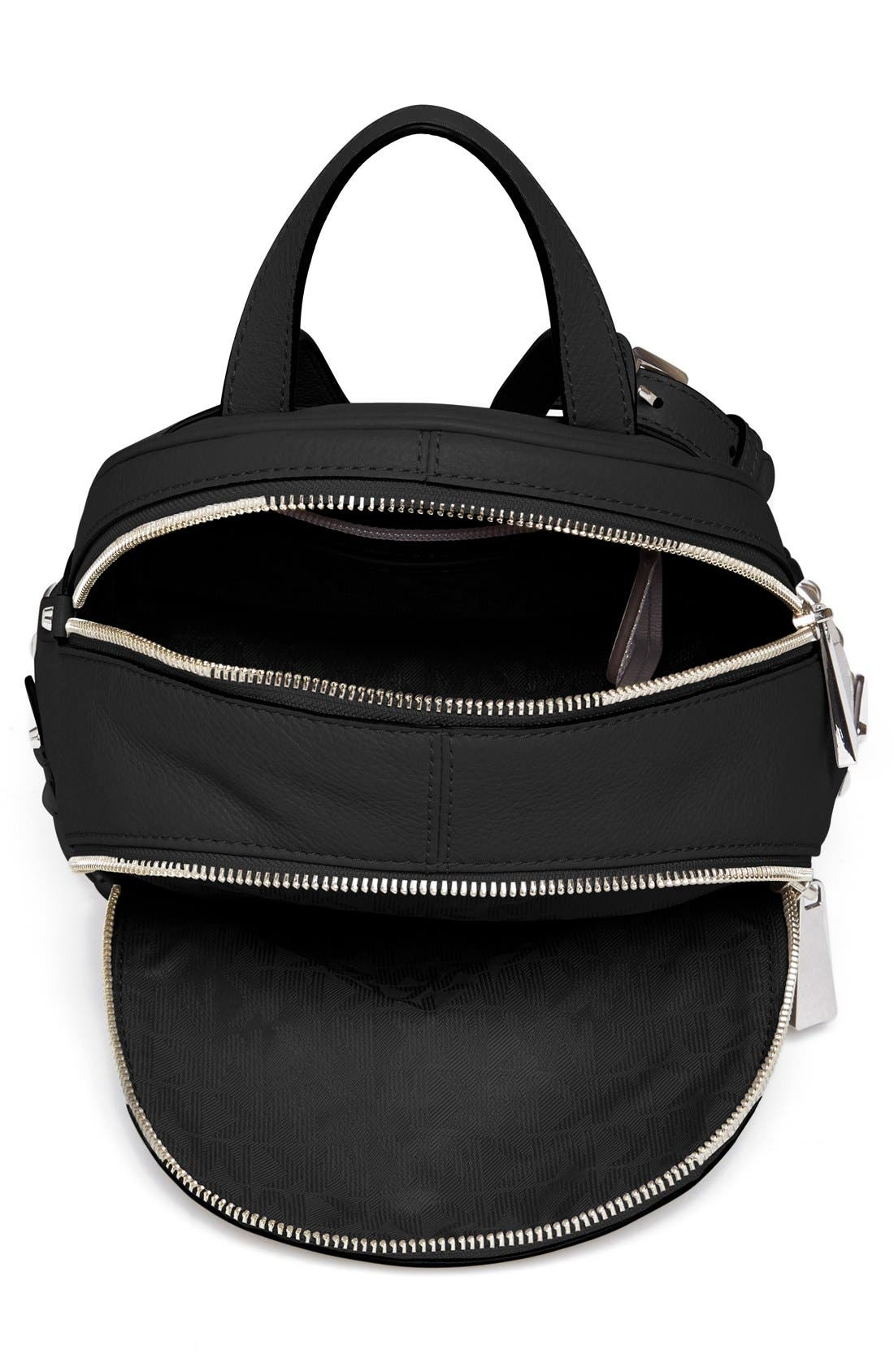 Alternate Image 4  - MICHAEL Michael Kors 'Small Rhea Zip' Studded Backpack