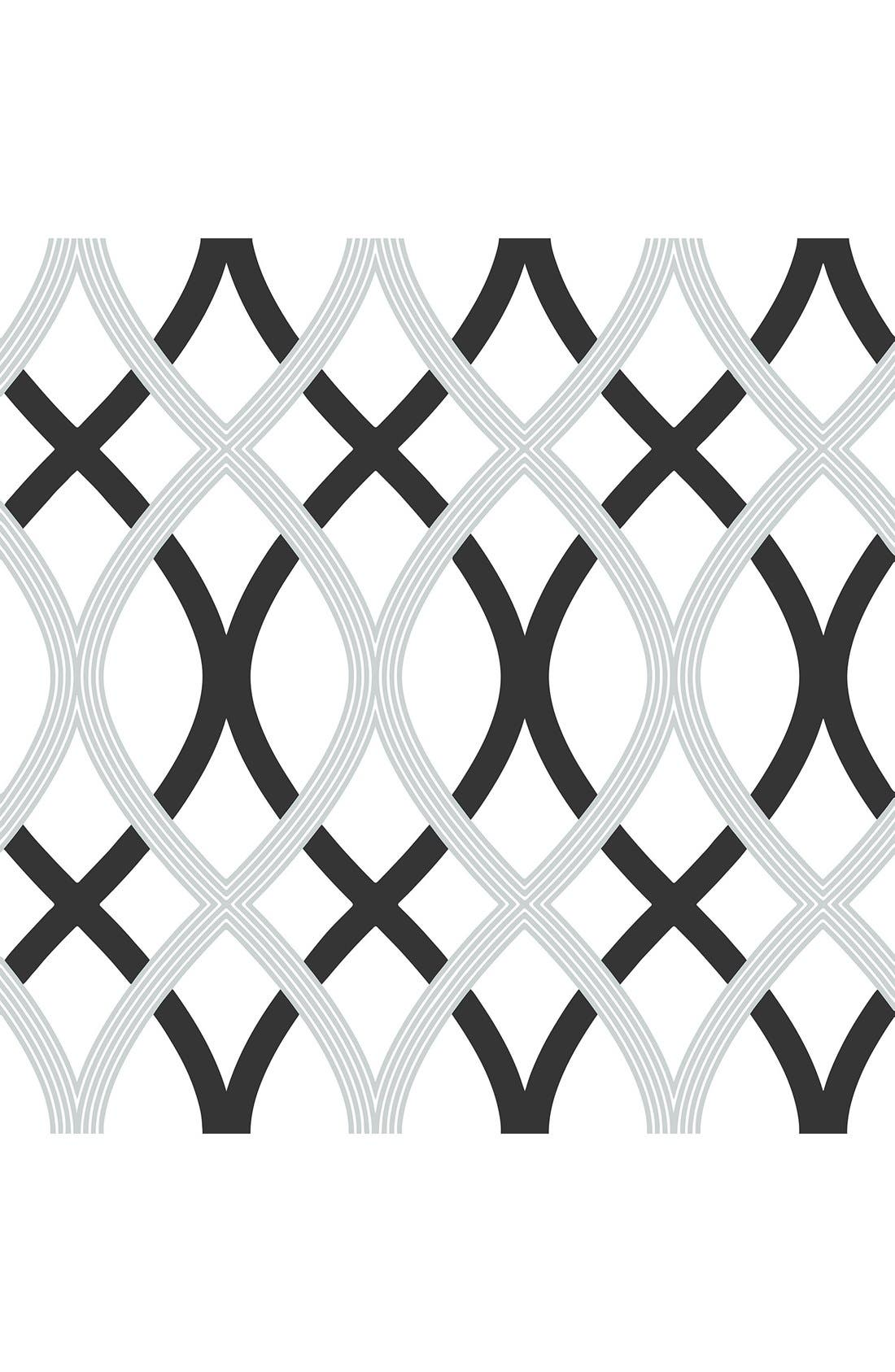 Alternate Image 1 Selected - Wallpops Geometric Print Reusable Peel & Stick Vinyl Wallpaper