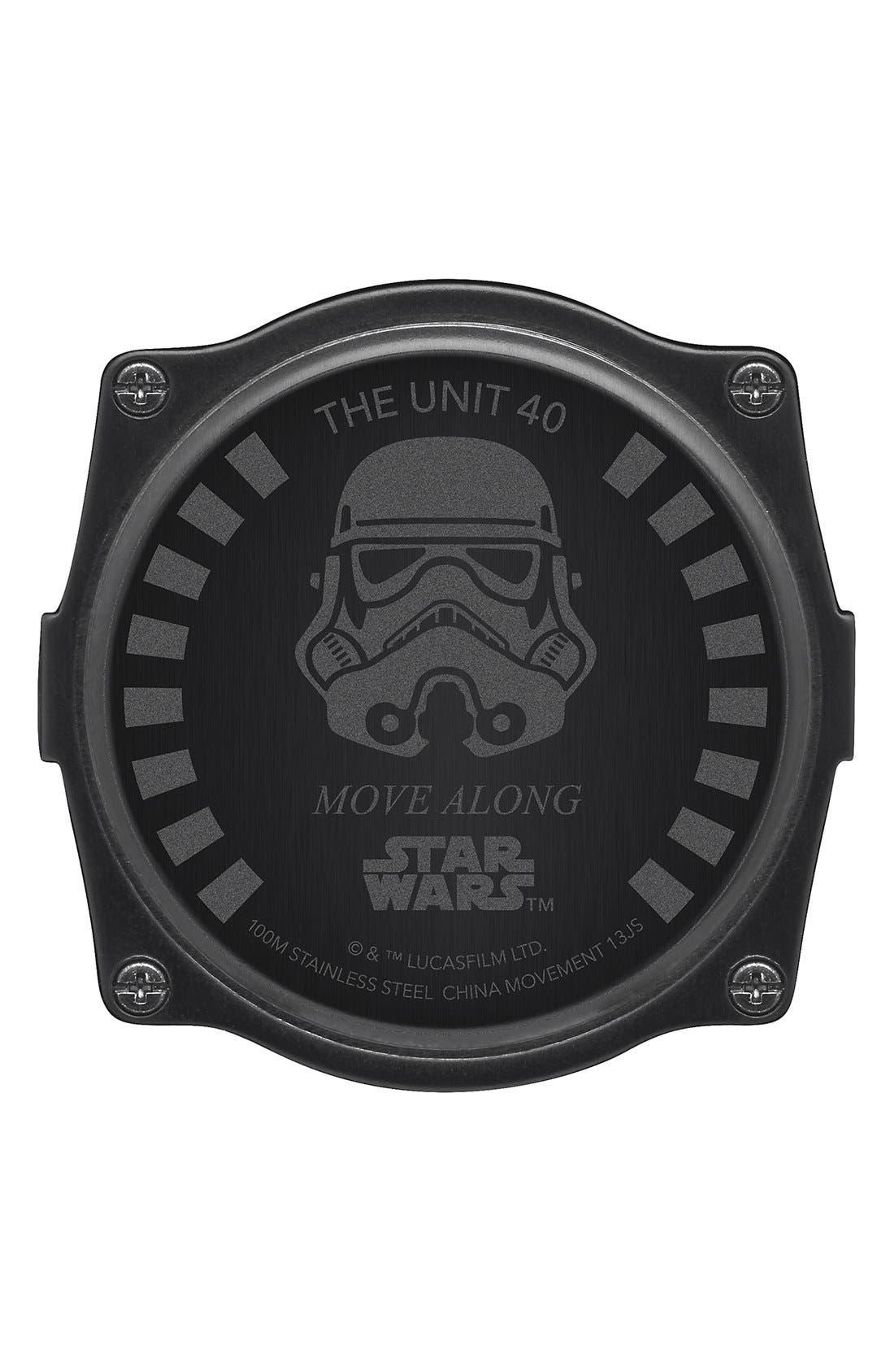 Alternate Image 4  - Nixon 'Star Wars - The Unit Stormtrooper' Digital Watch, 40mm