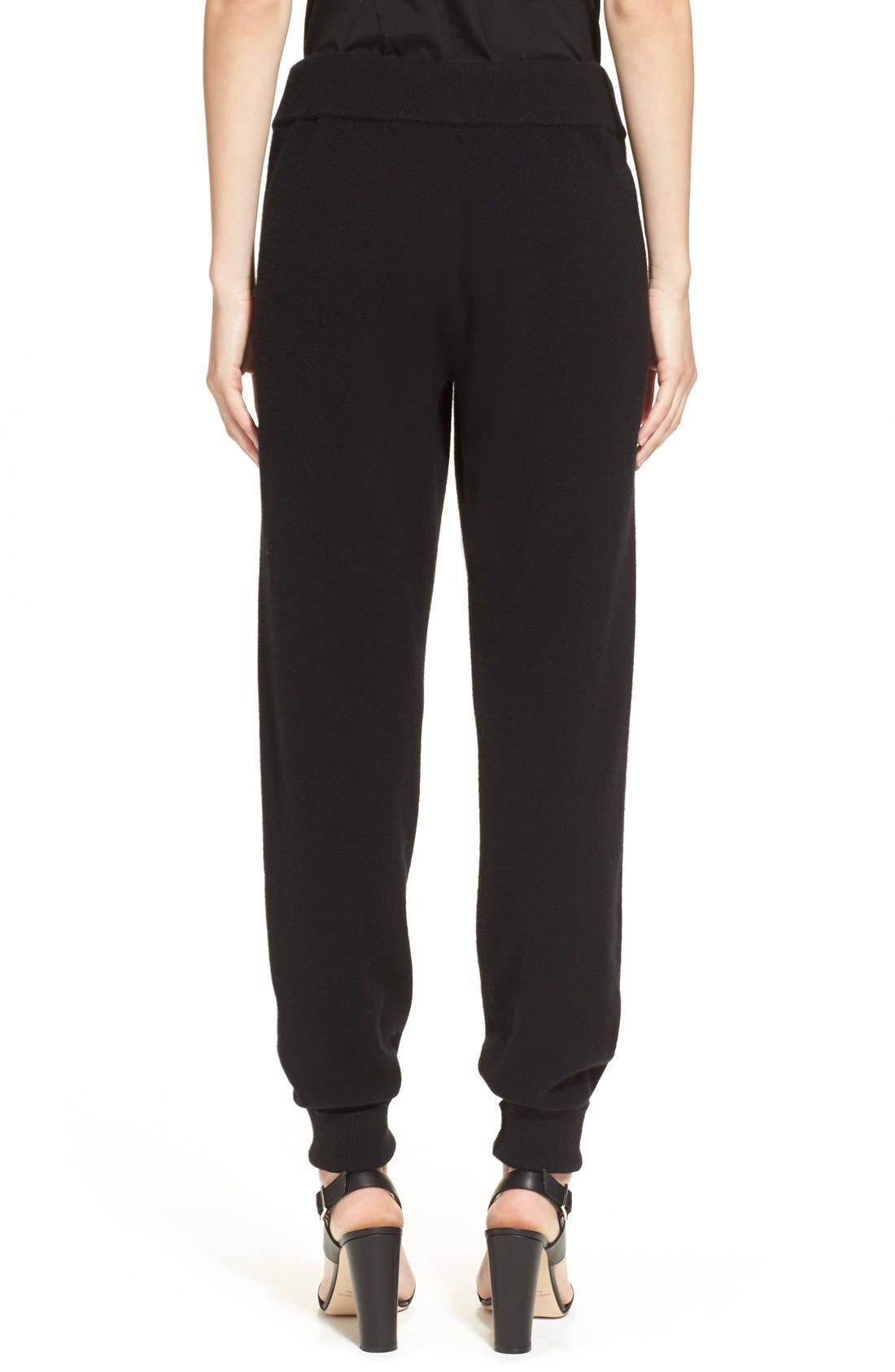 Alternate Image 2  - Donna Karan Collection Midweight Rib Jogger Pants