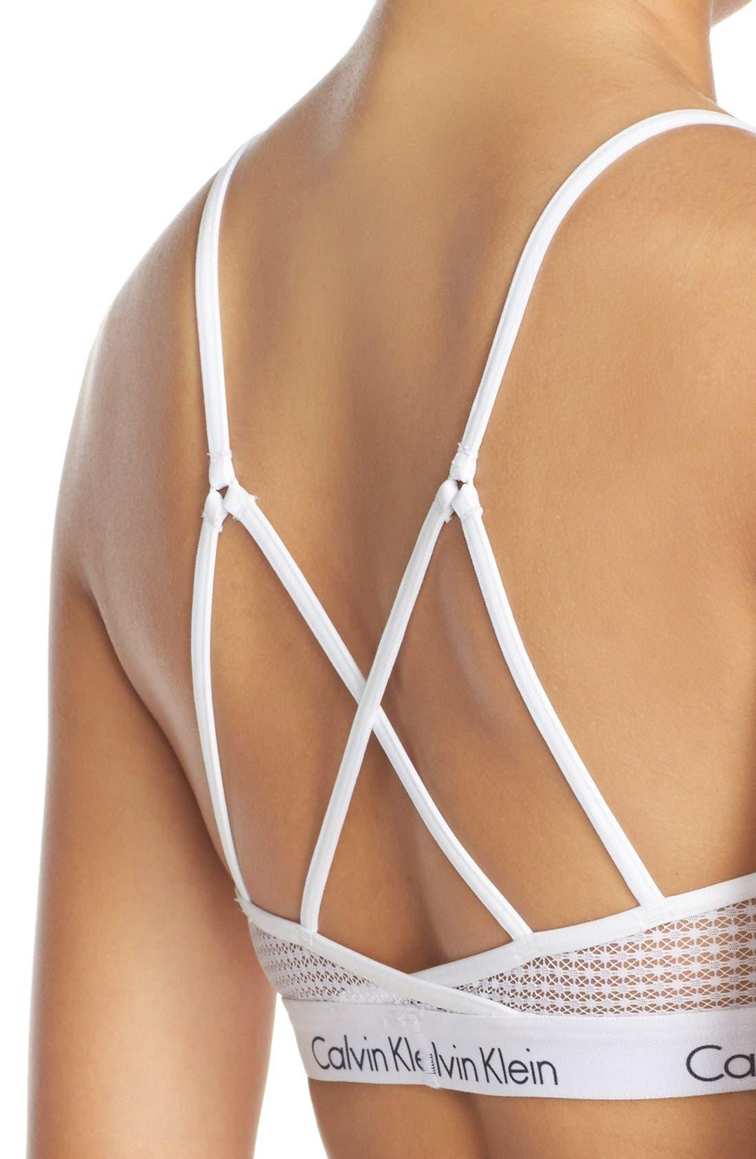 Alternate Image 5  - Calvin Klein 'One Micro' Bralette