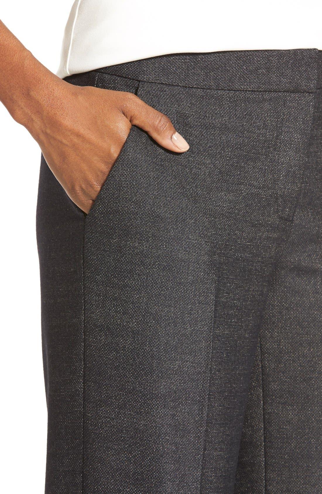 Alternate Image 4  - Classiques Entier® 'Verona' Suiting Trousers (Regular & Petite)