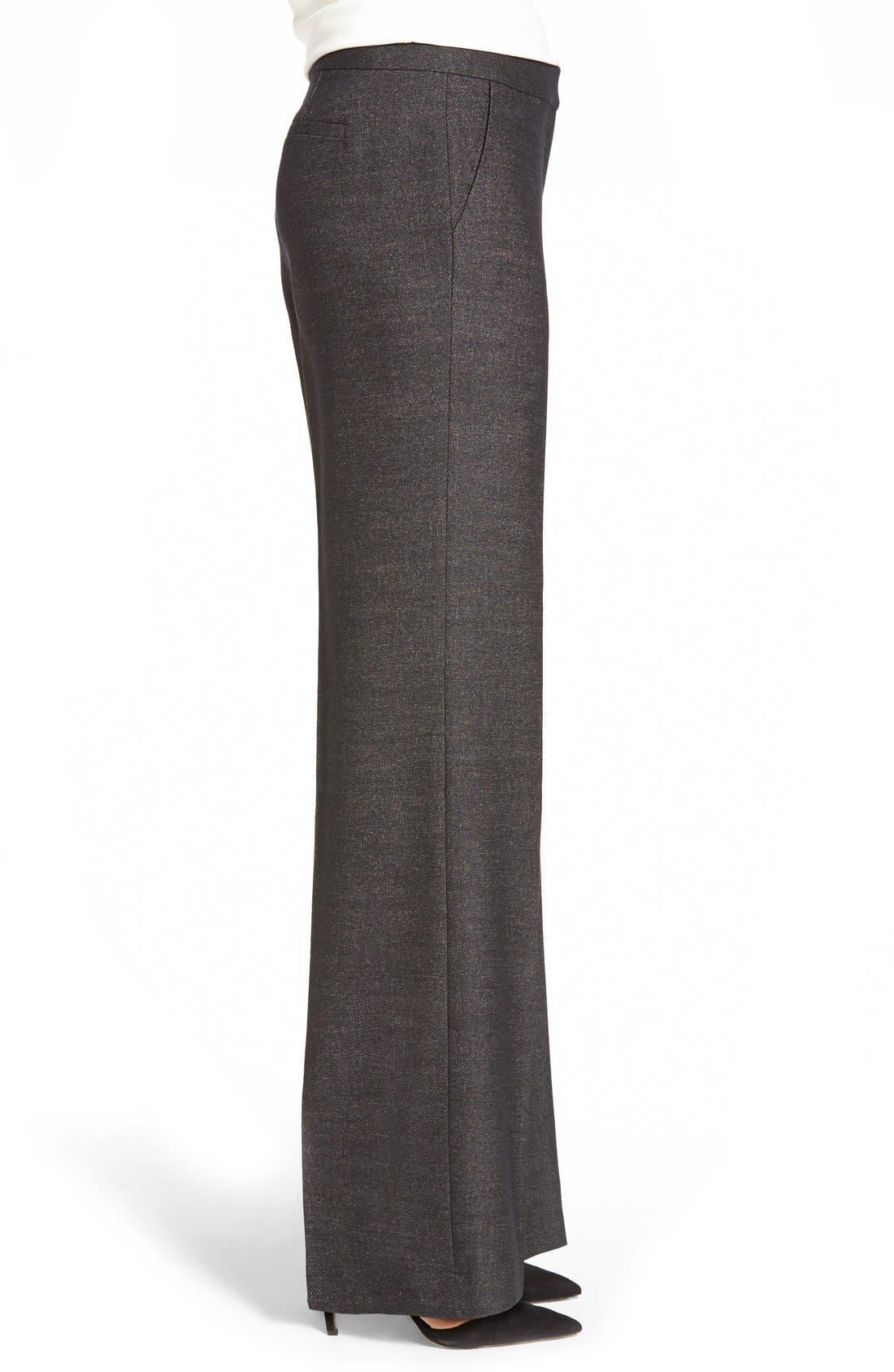 Alternate Image 3  - Classiques Entier® 'Verona' Suiting Trousers (Regular & Petite)