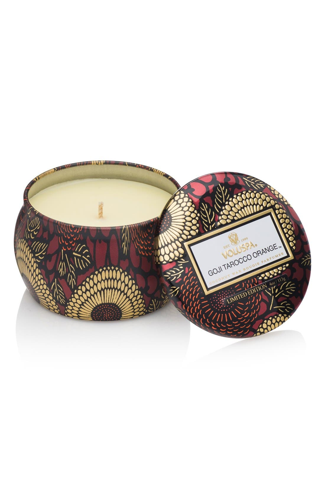 VOLUSPA 'Japonica - Goji Tarocco Orange™' Mini Tin Candle