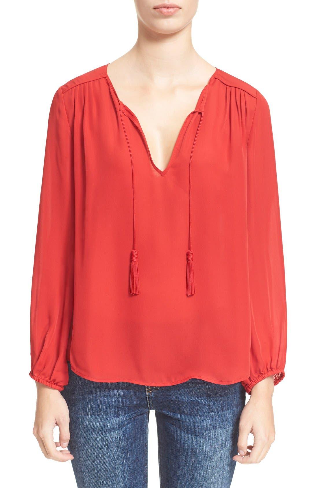Joie 'Odelette' Silk Shirt