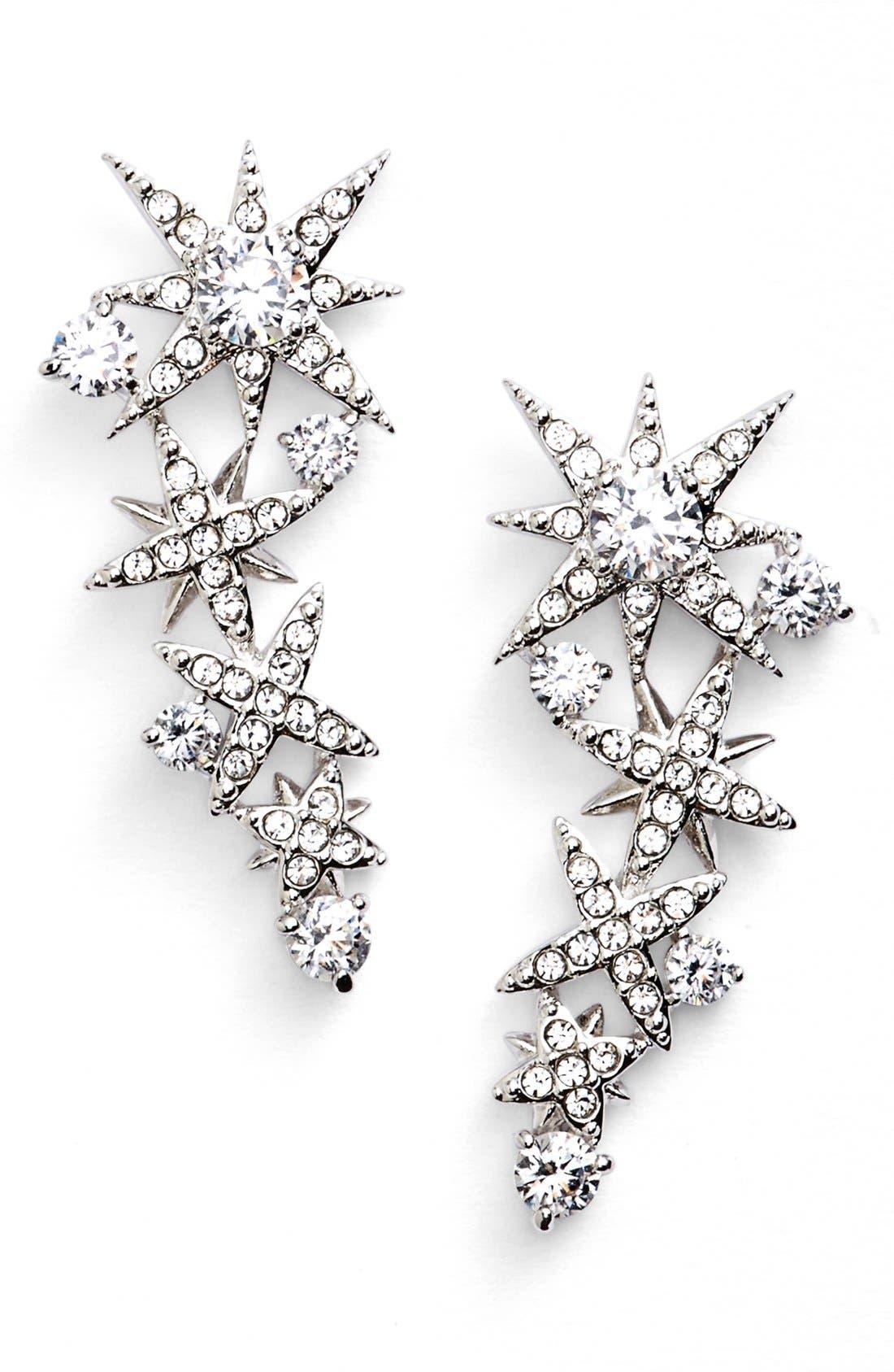 Alternate Image 1 Selected - Nadri'Starry Night' Linear Stud Earrings